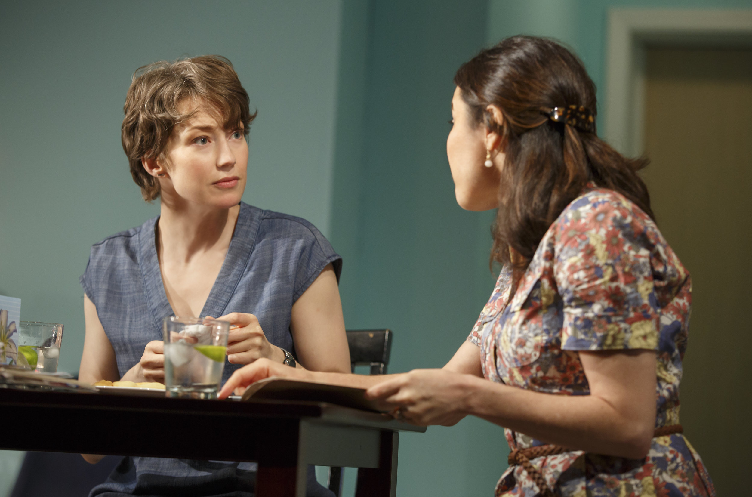 Carrie Coon and Susan Pourfar in MARY JANE at New York Theatre Workshop, Photo by Joan Marcus.jpg
