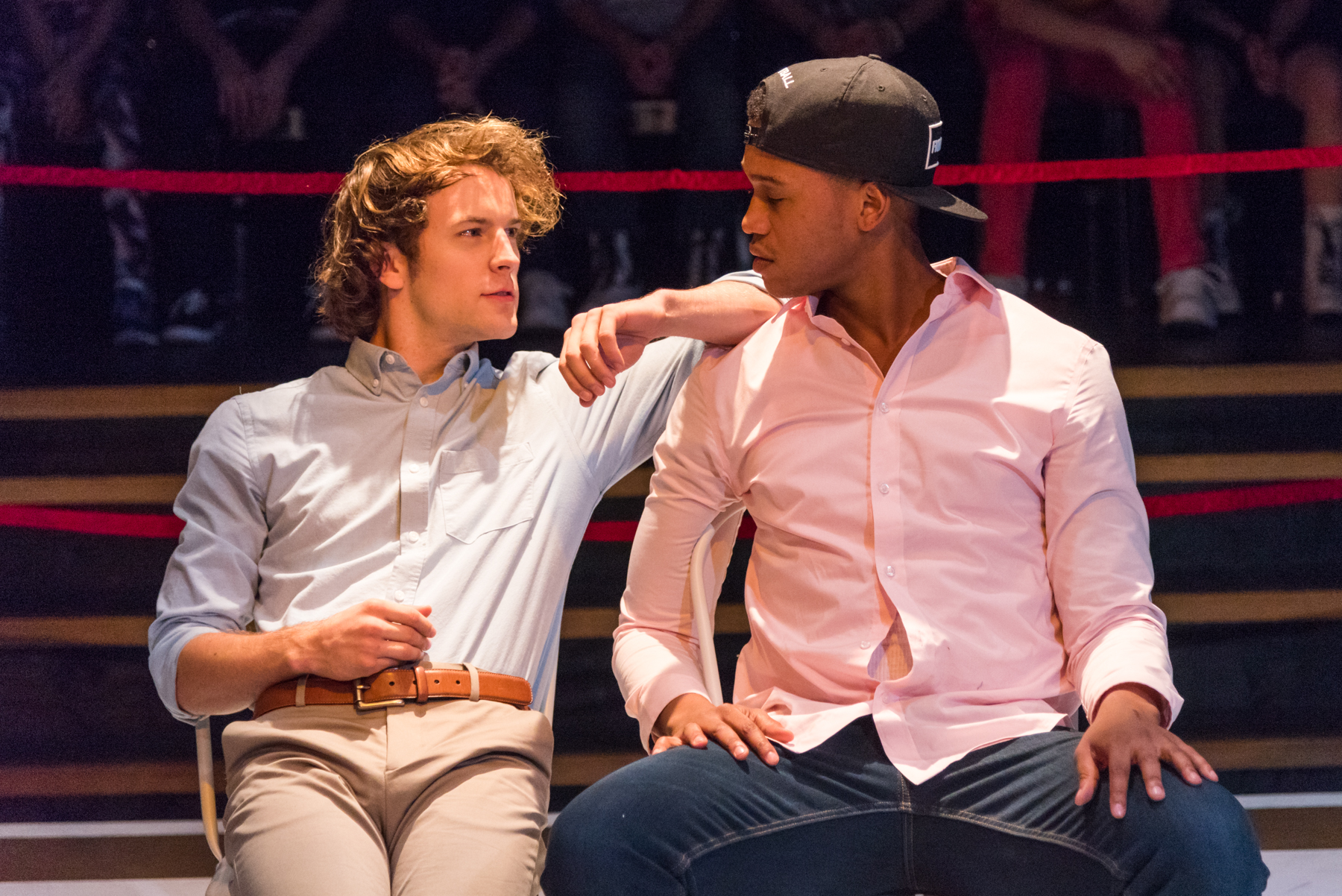 Josh Salt and Lance Lemon in Less Than Rent Theatre's FMK - photo by Russ Rowland.jpg