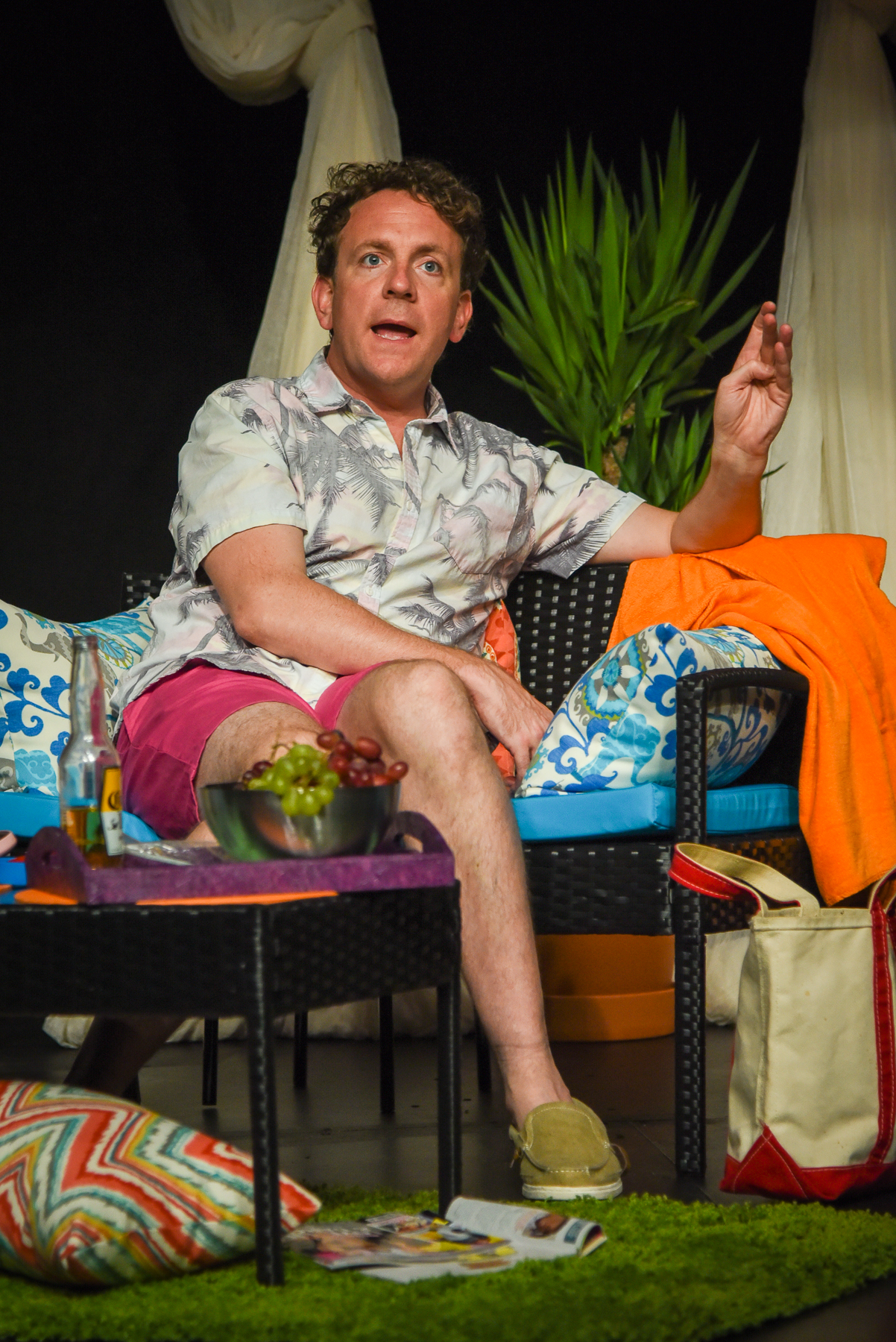 Bright Colors And Bold Patterns, Actor-Playwright Drew Droege, photo by Russ Rowland.jpg