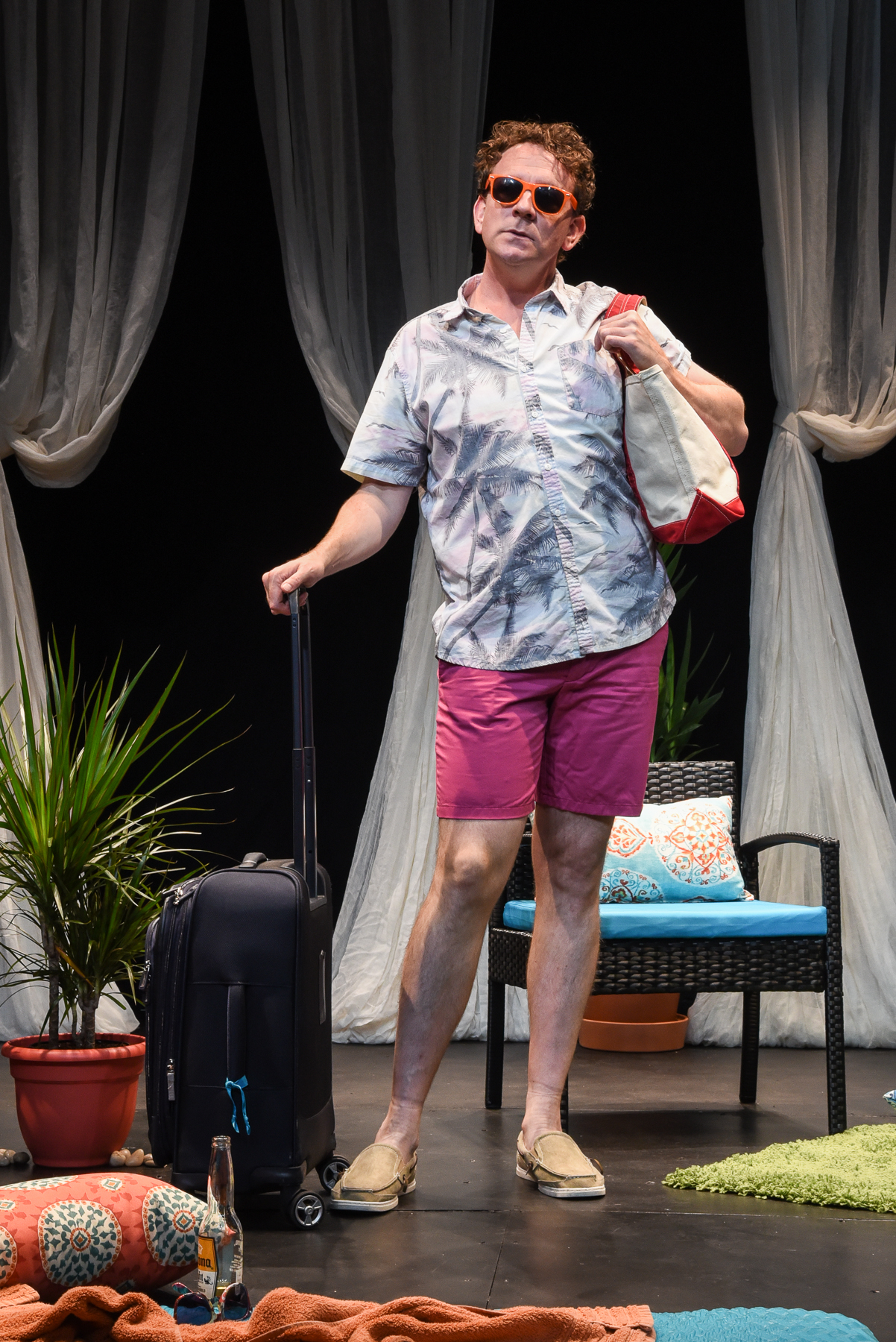 Bright Colors And Bold Patterns,  Actor-Playright Drew Droege, photo by Russ Rowland.jpg