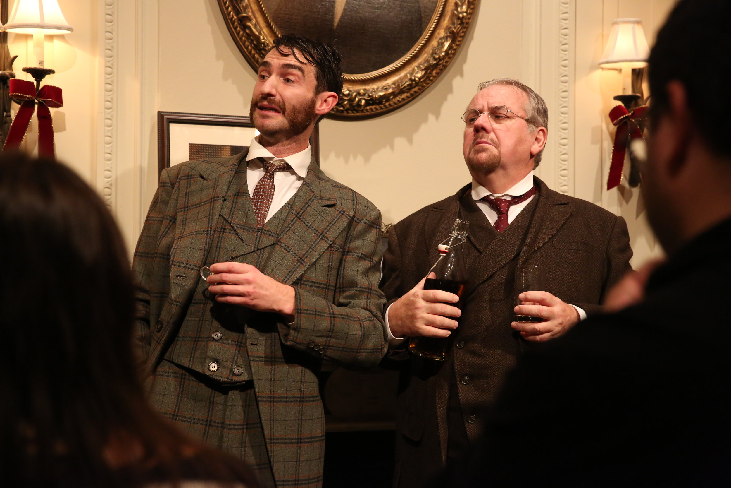 James Russell and Peter Cormican in Irish Rep's THE DEAD, 1904.Photo by Carol Rosegg.JPG