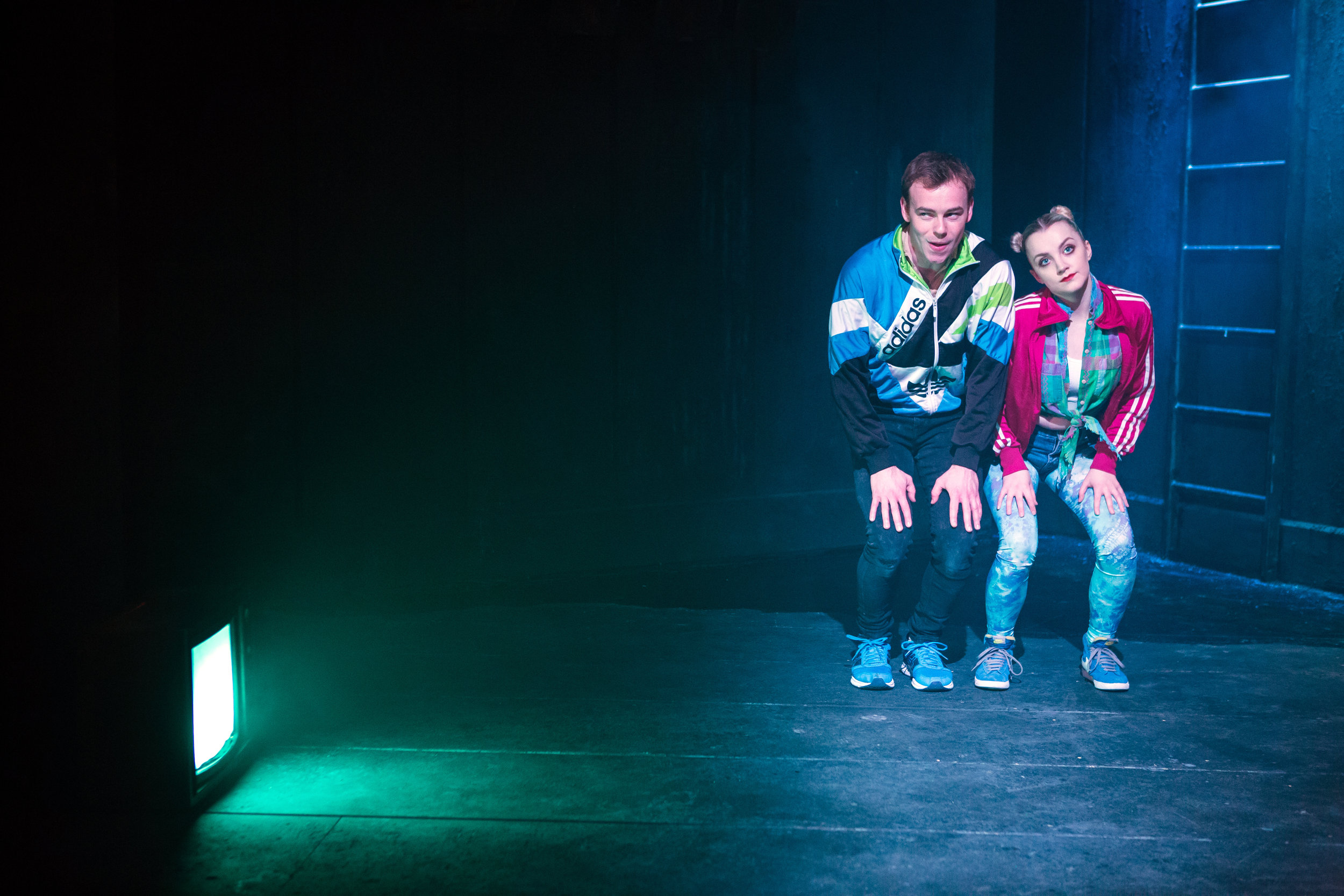 Colin Campbell and Evanna Lynch in DISCO PIGS at Irish Rep - photos by Jeremy Daniel (1).JPG