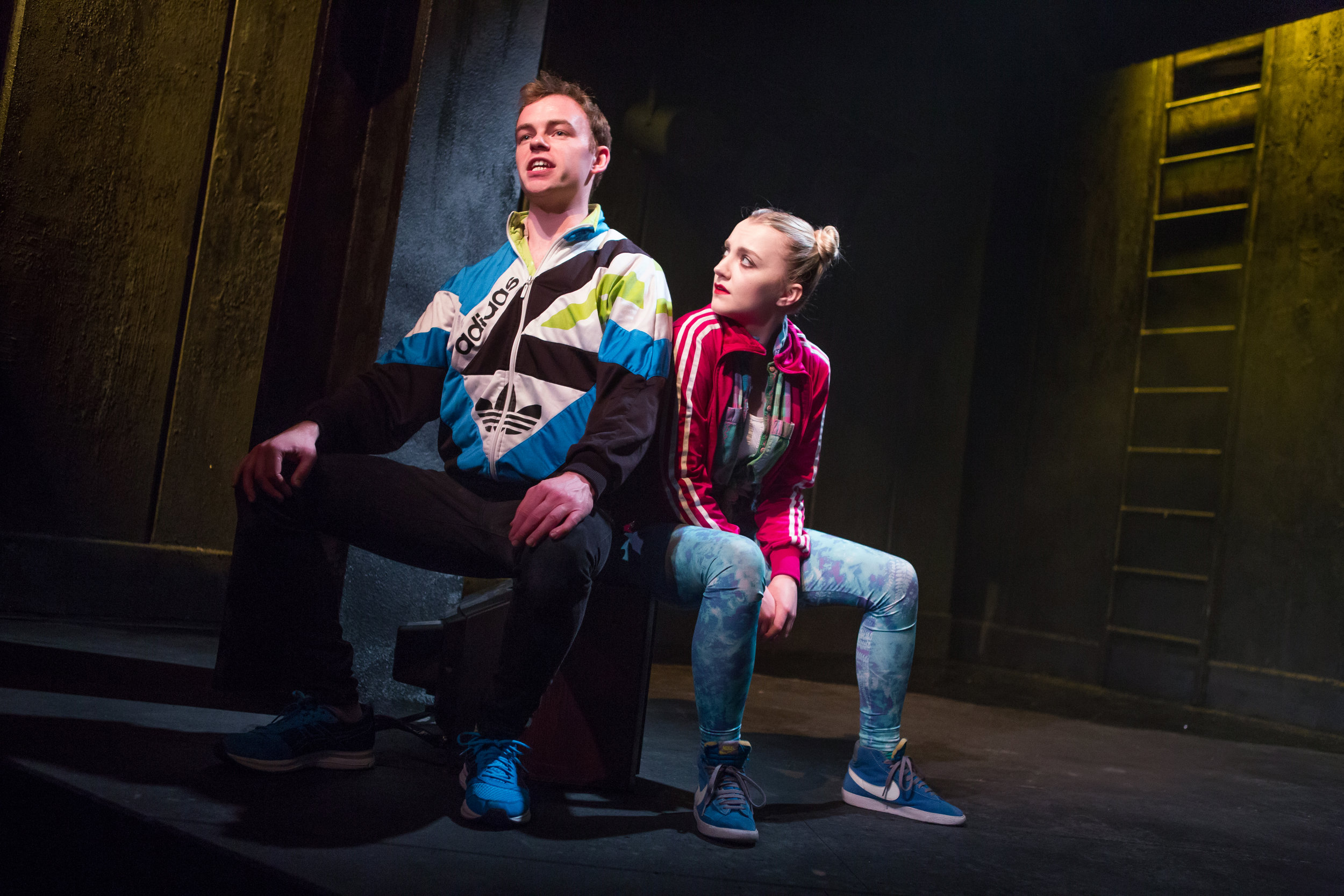 Colin Campbell and Evanna Lynch in DISCO PIGS at Irish Rep - photos by Jeremy Daniel (2).JPG