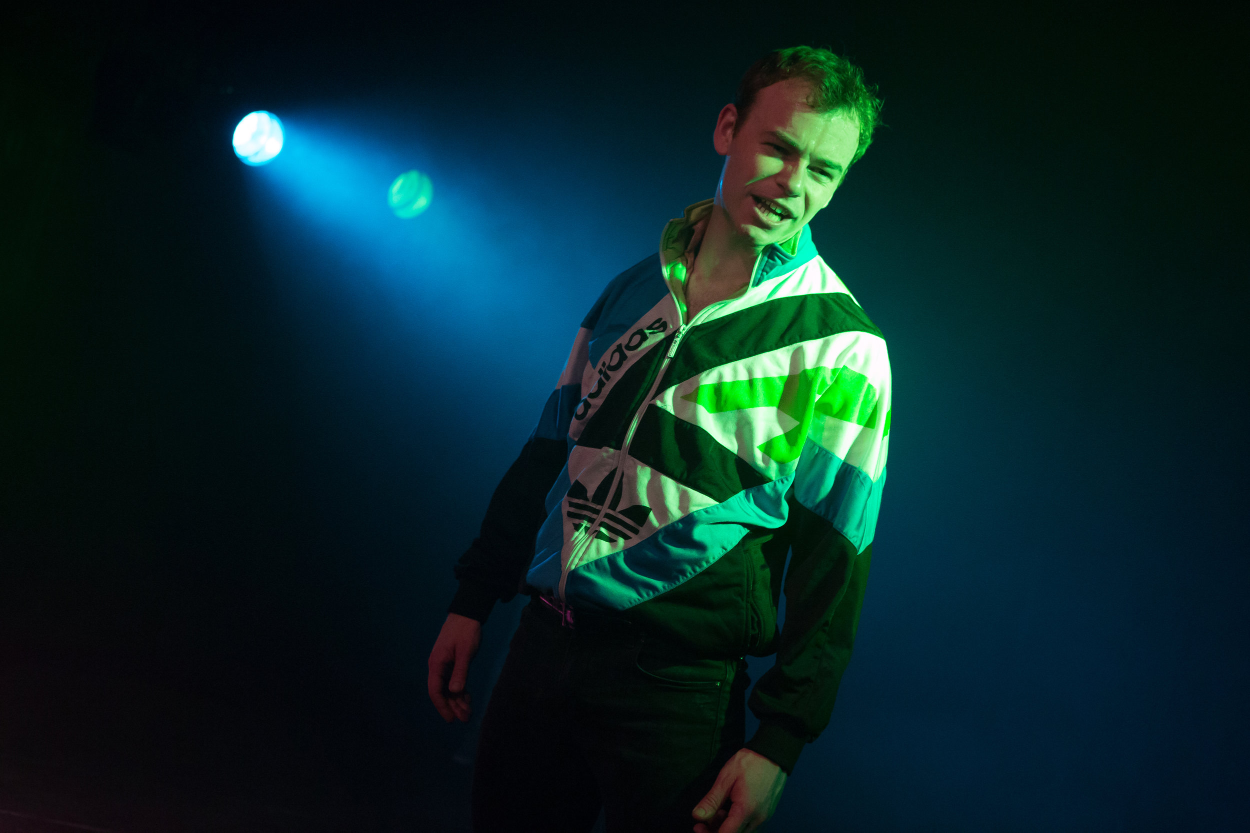 Colin Campbell in DISCO PIGS at Irish Rep - photos by Jeremy Daniel.JPG