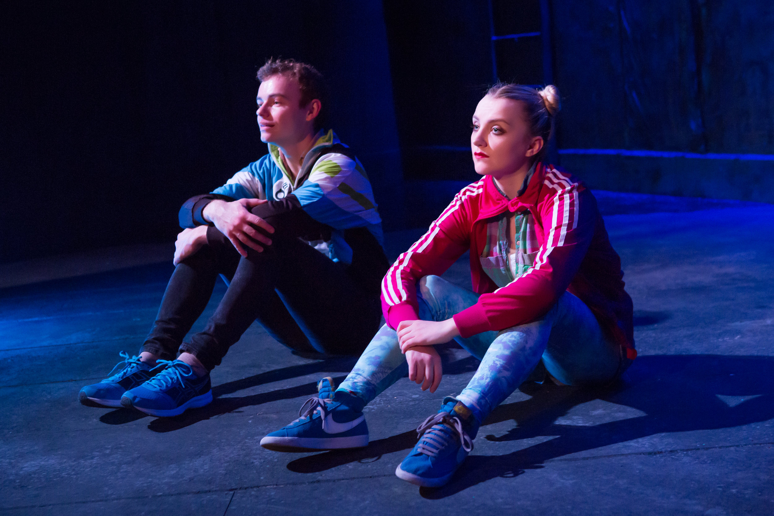 Colin Campbell and Evanna Lynch in DISCO PIGS at Irish Rep - photos by Jeremy Daniel (4).JPG