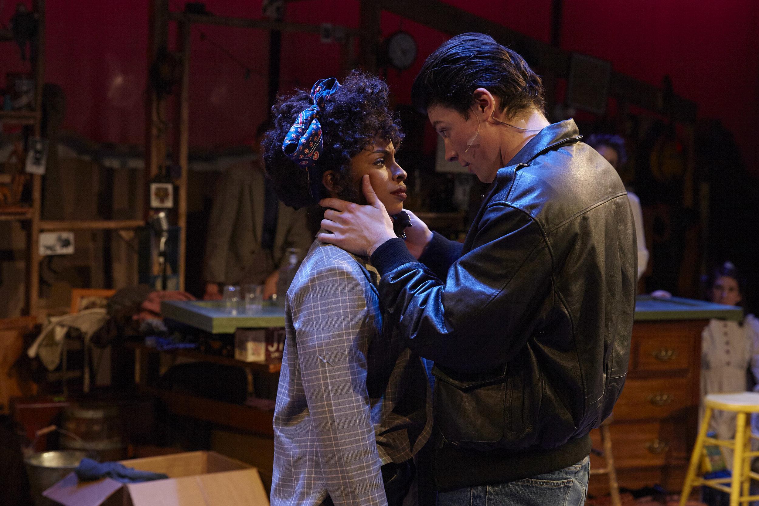 Morgan Siobhan Green & Adrian Blake Enscoe in Pipeline Theatre Company's FOLK WANDERING, Photo by Suzi Sadler.jpg