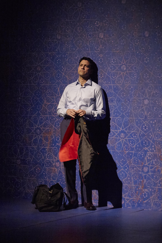 Sanjit De Silva in AN ORDINARY MUSLIM at New York Theatre Workshop - photo by Suzi Sadler (1).jpg