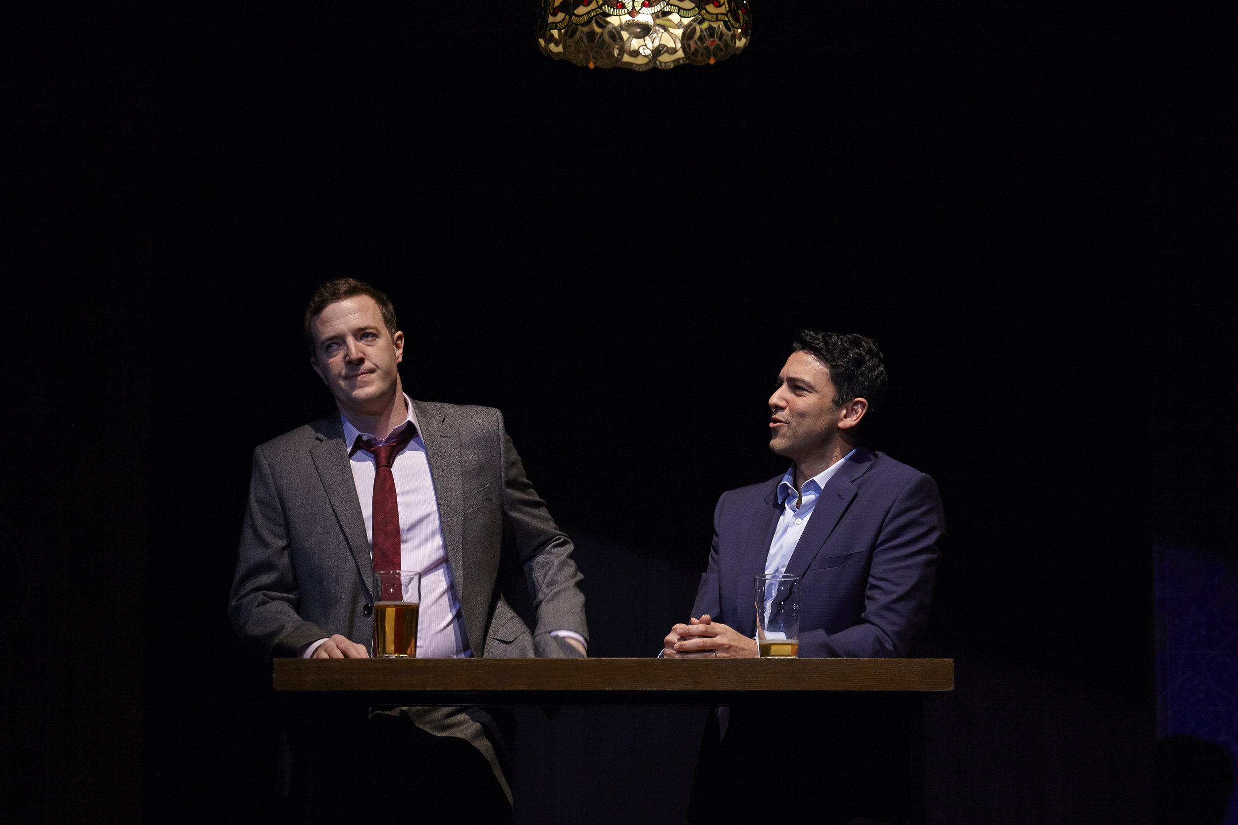 Andrew Hovelson and Sanjit de Silva in AN ORDINARY MUSLIM at New York Theatre Workshop - photo by Suzi Sadler.jpg