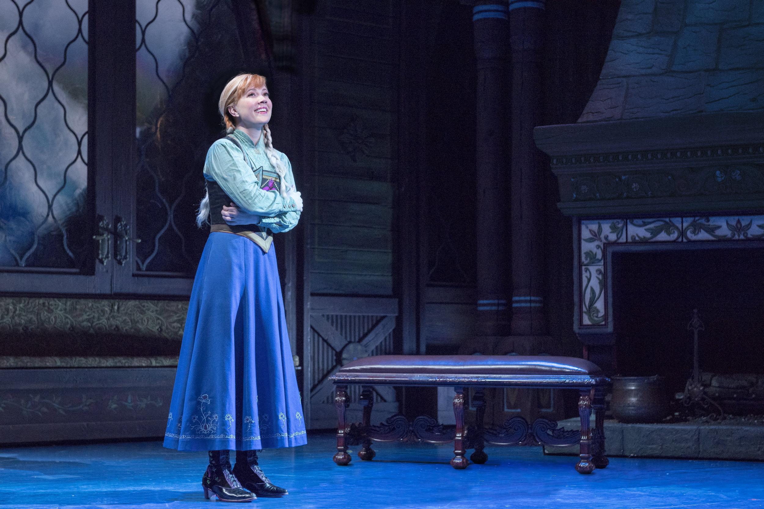 Patti Murin as Anna in FROZEN on Broadway - True Love. Photo by Deen van Meer.jpg