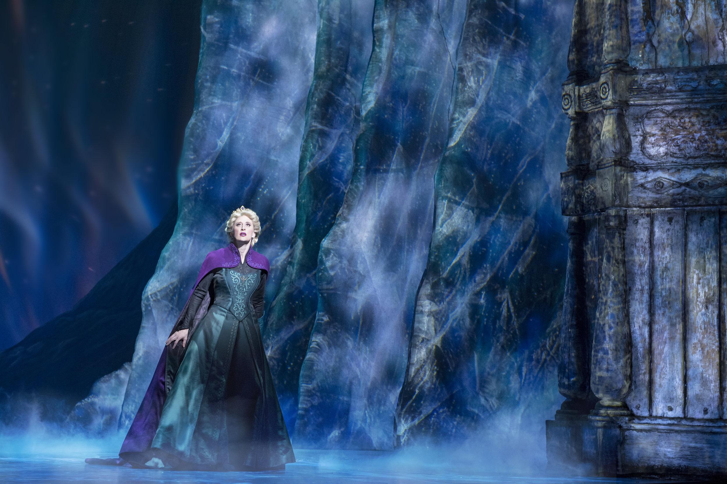 Caissie Levy as Elsa in FROZEN on Broadway - Freeze. Photo by Deen van Meer.jpg