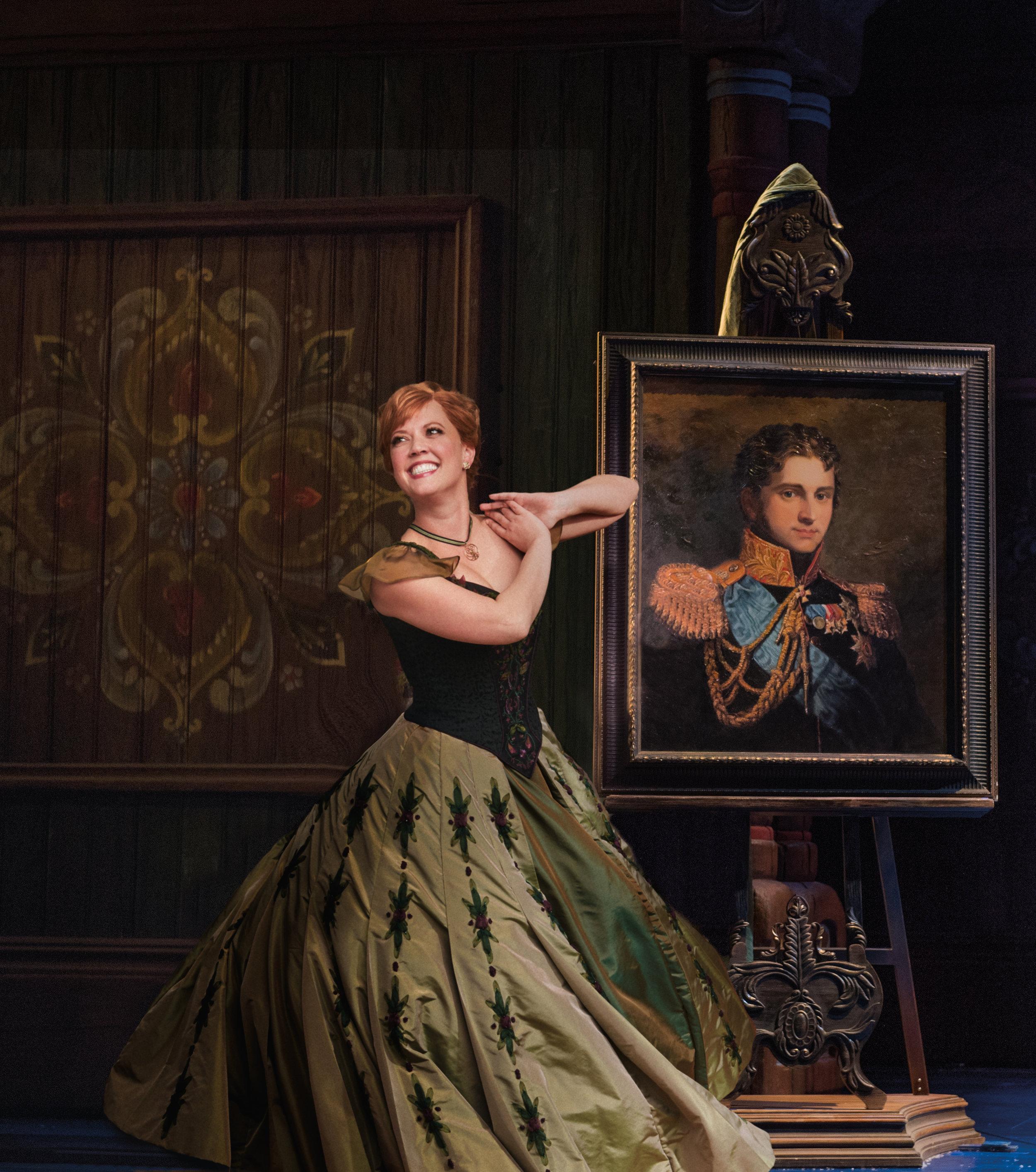 Patti Murin as Anna in FROZEN on Broadway - Portrait. Photo by Deen van Meer.jpg