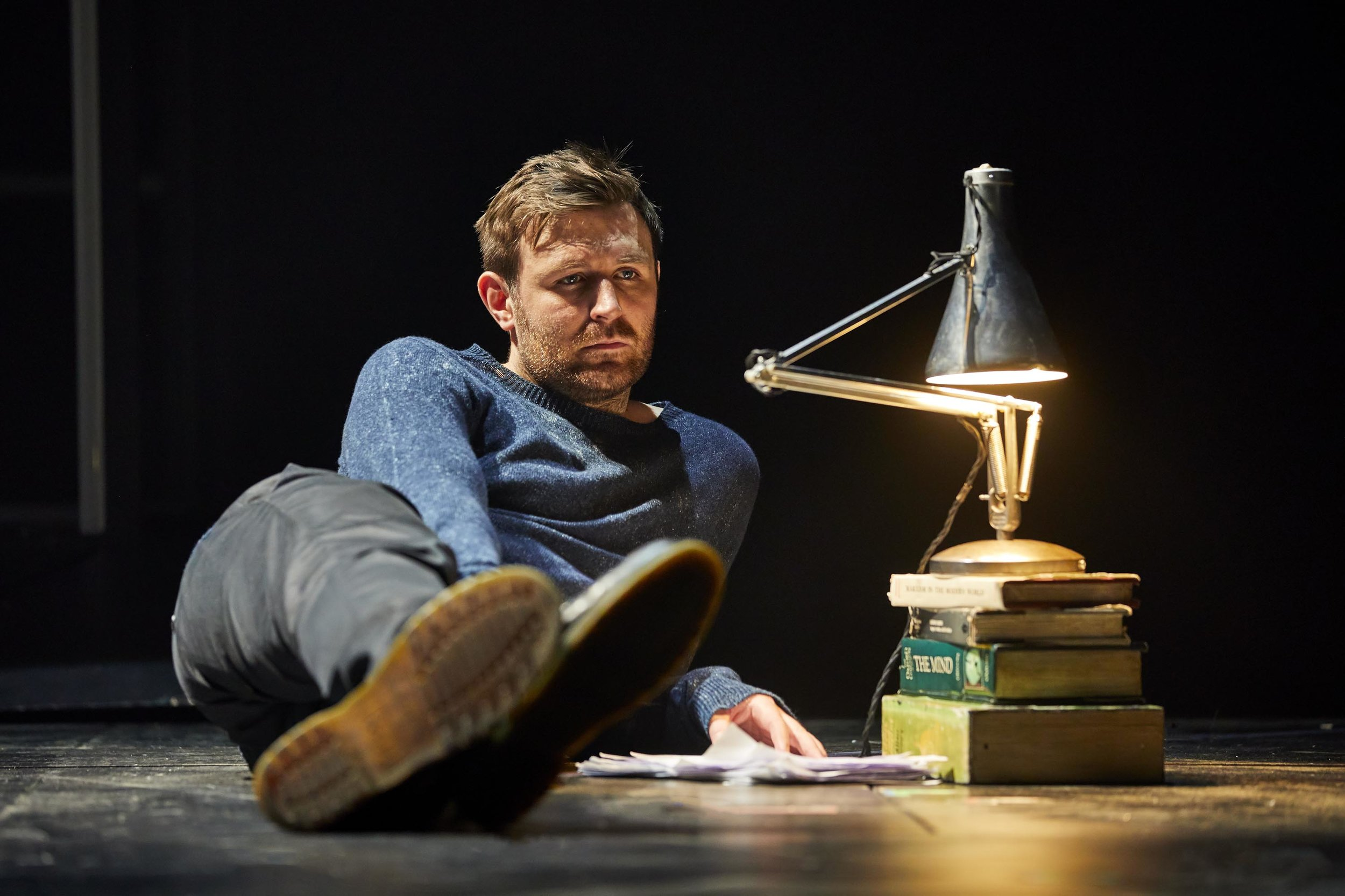 James McArdle in  Angels in America.  Photo: Brinkoff & Mögenburg