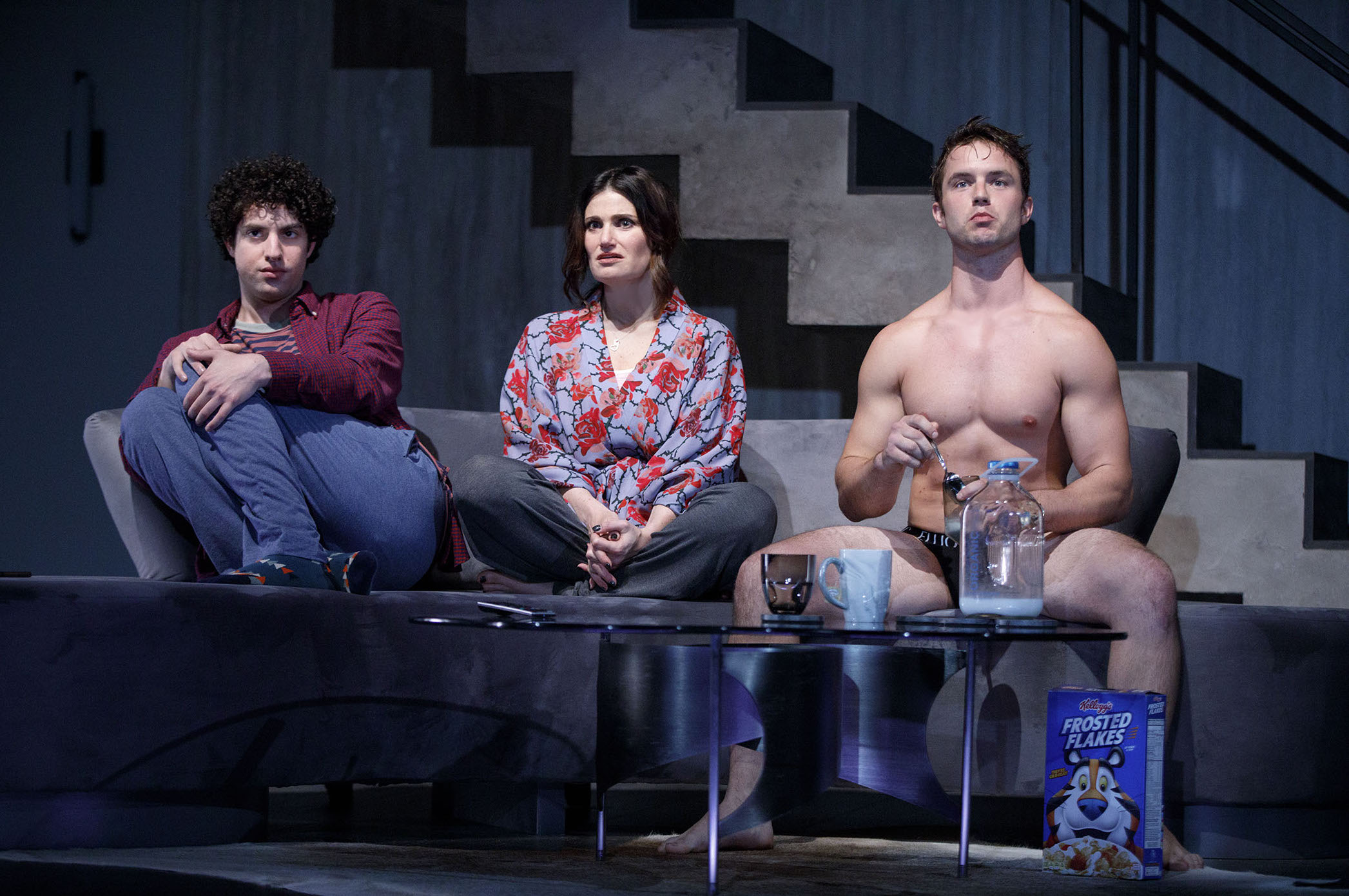 0352r_Eli Gelb, Idina Menzel and Will Brittain in SKINTIGHT, photo by Joan Marcus 2018.jpg