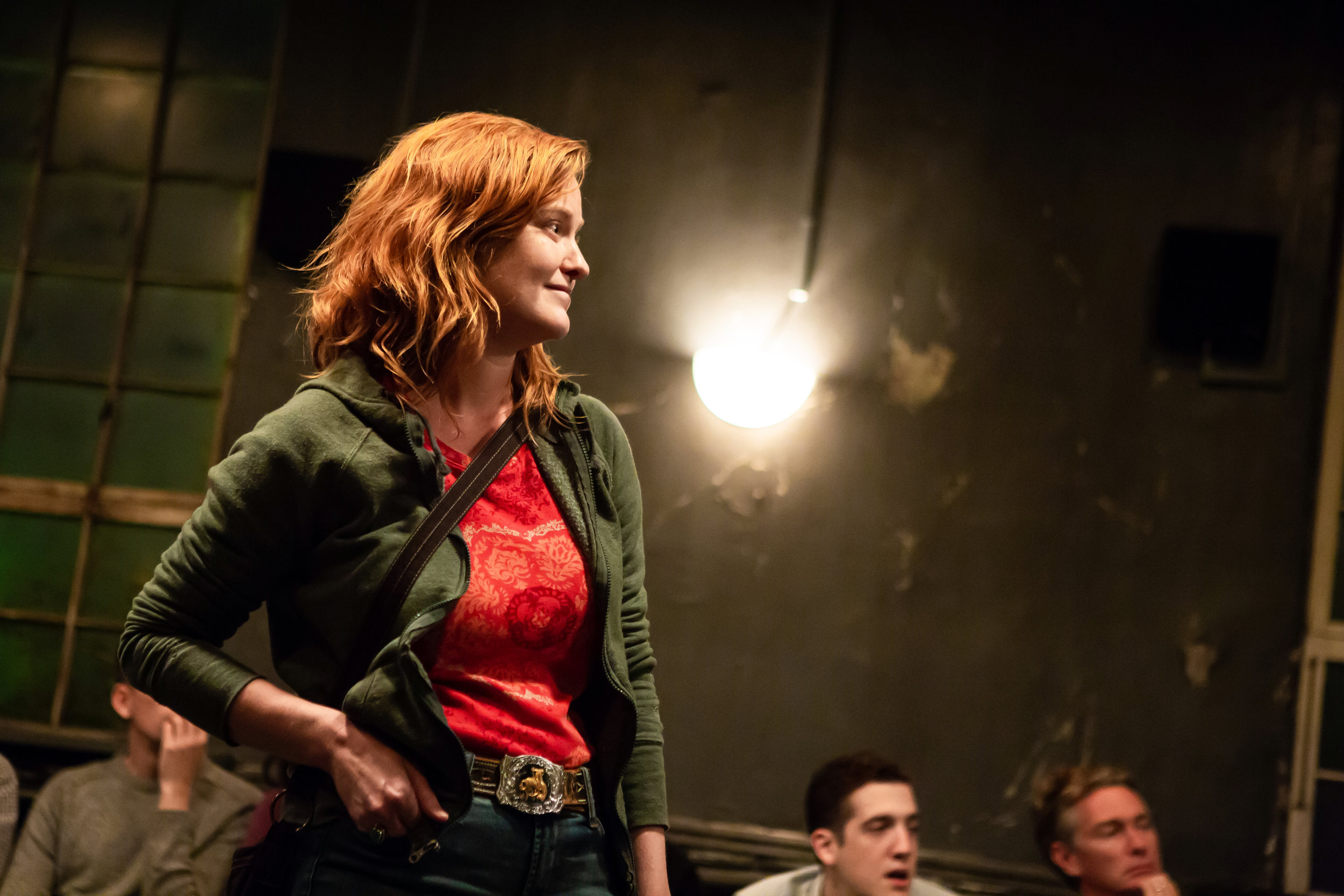 Heidi Armbruster in CLARKSTON, part of LEWISTON : CLARKSTON at Rattlestick Playwrights Theater - Photo by Jeremy Daniel.JPG