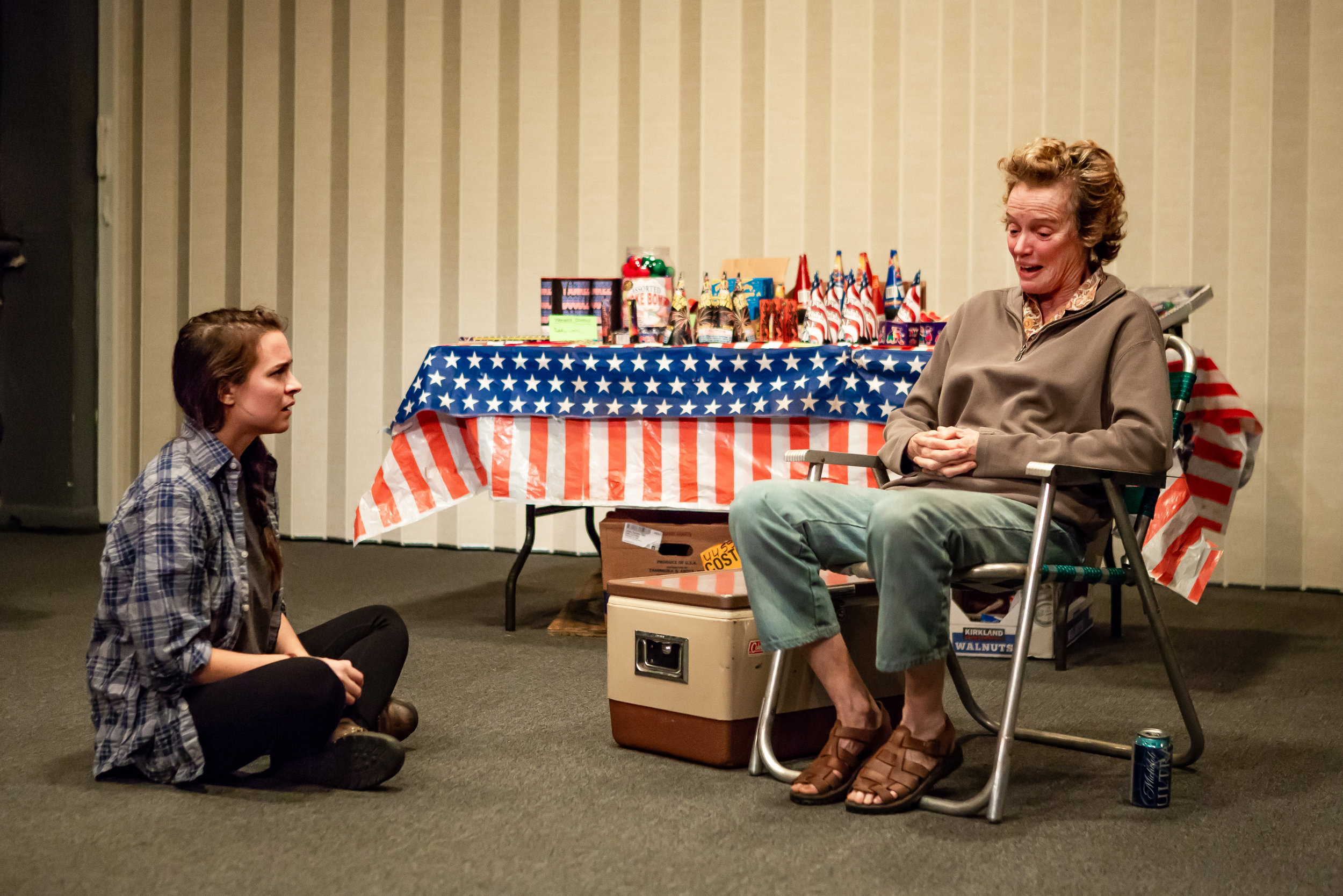 Leah Karpel and Kristin Griffith in LEWISTON, part of LEWISTON : CLARKSTON at Rattlestick Playwrights Theater - Photo by Jeremy Daniel (4).JPG