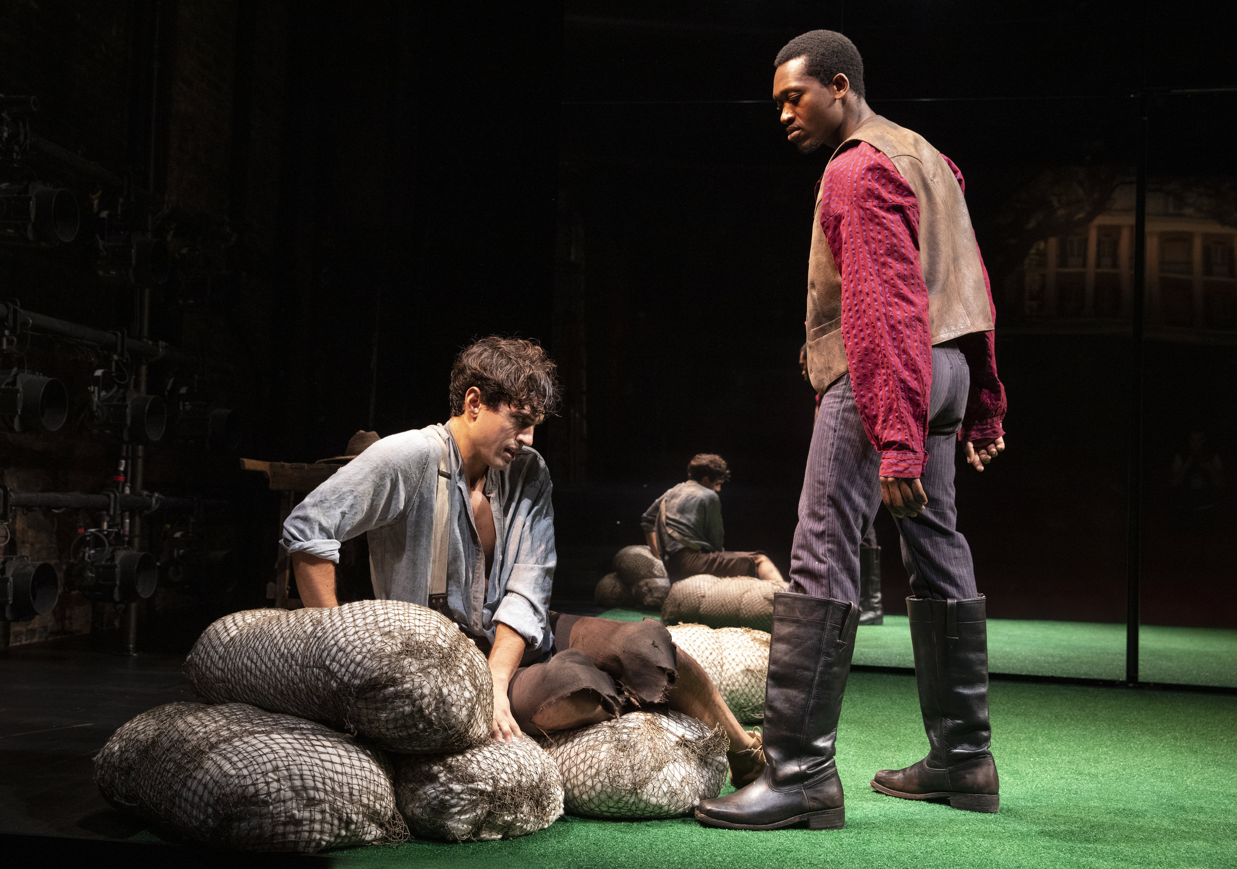James Cusati-Moyer and Ato Blankson-Wood in the New York Theatre Workshop production of SLAVE PLAY - photo by Joan Marcus.jpg