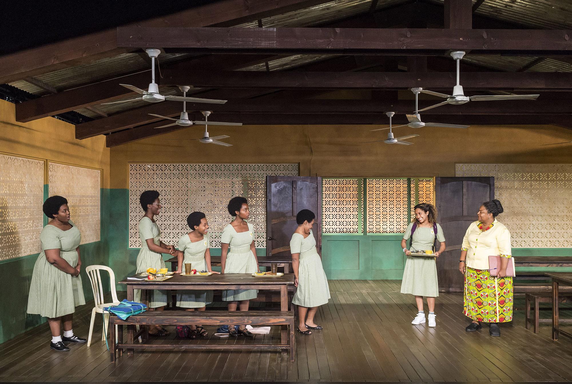 WEB-054.L-R-Abena-Mensah-Bonsu-Latoya-Edwards-Mirirai-Sithole-MaameYaa-Boafo-Paige-Gilbert-Joanna-A.-Jones-and-Myra-Lucretia-Taylor-in-School-Girls-Or-the-African-Mean-Girls-Play-photo-by-Craig-Schwartz.jpg