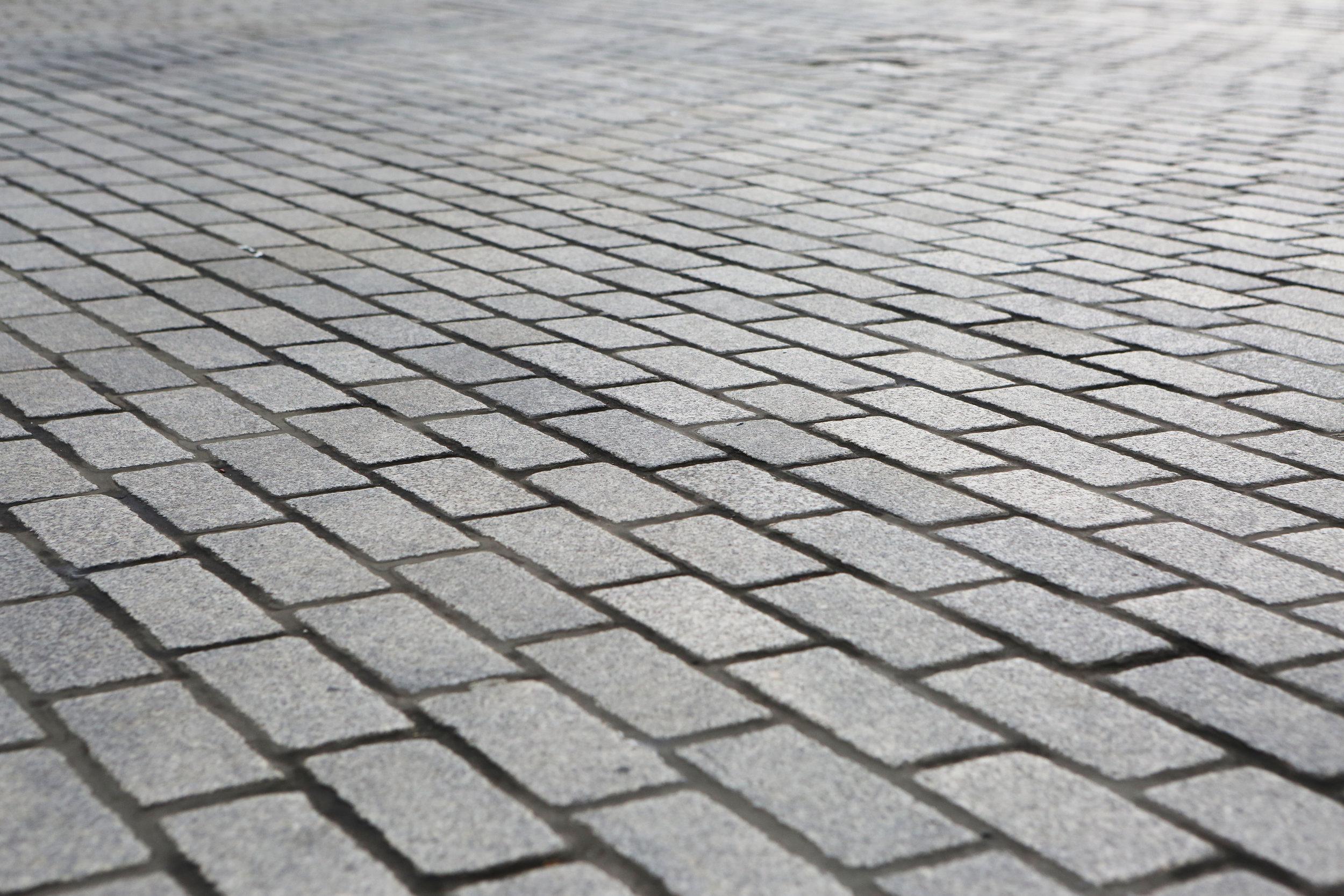 Brick and stone pavers