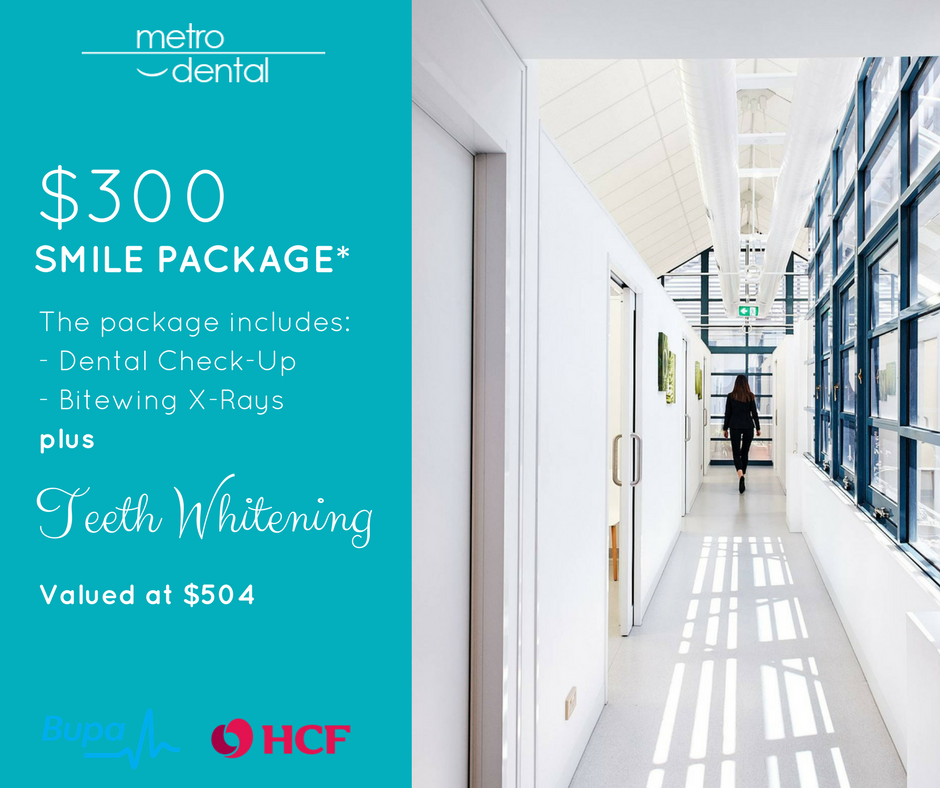 teeth whitening Melbourne package