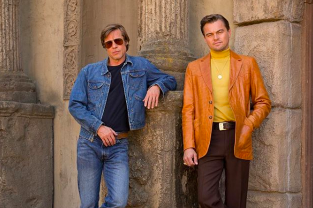 Pitt & DiCaprio fight against the inflation of jacket prices in Once Upon a Time in Hollywood