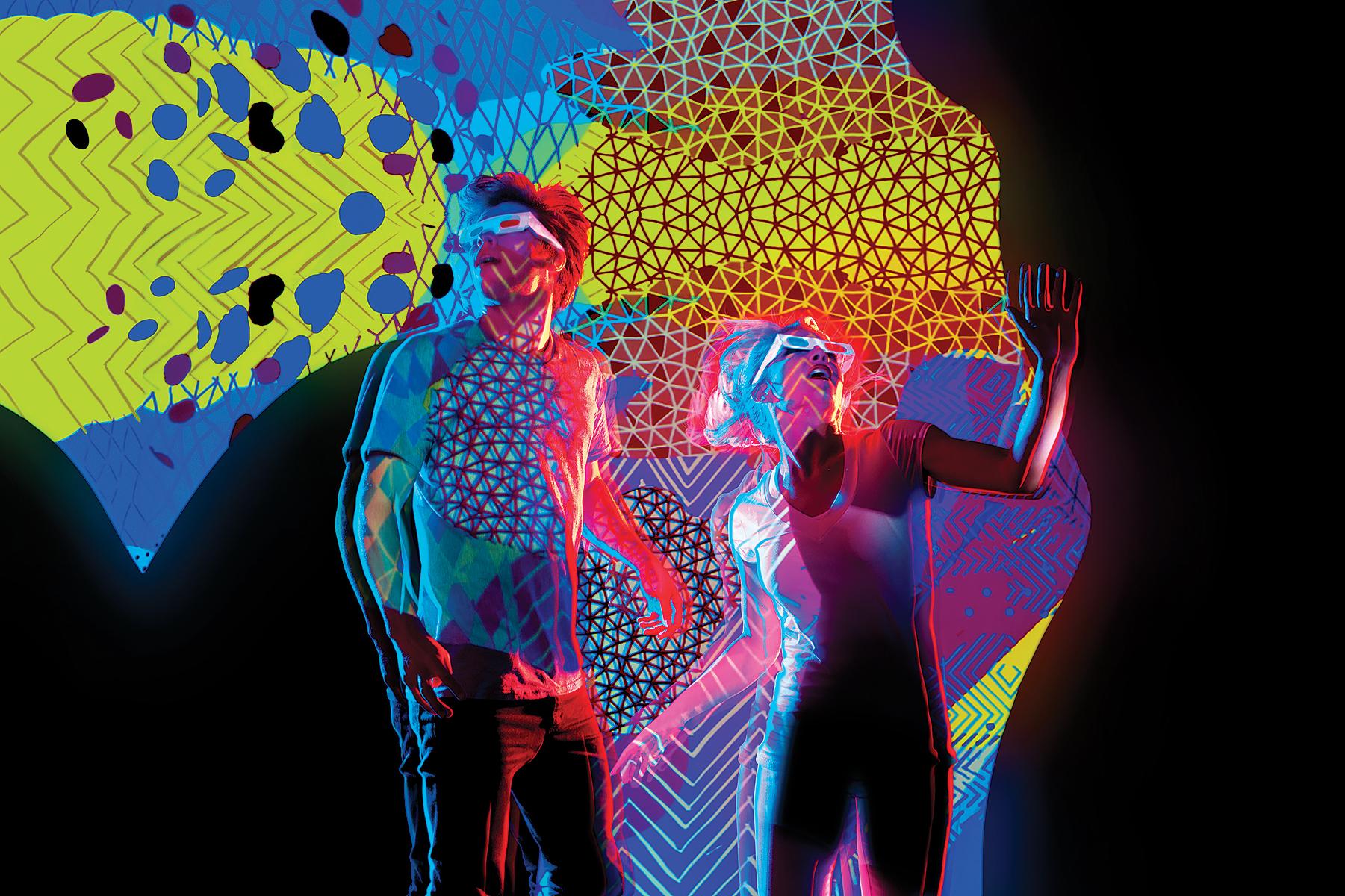 Smirnoff Midnight Circus: 3D