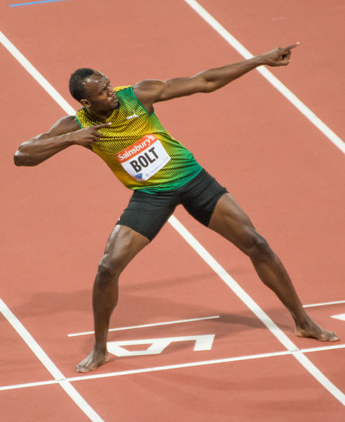 What are the lifestyle secrets behind Usain Bolt's success?  by J. Brichto / CC BY-SA 3.0