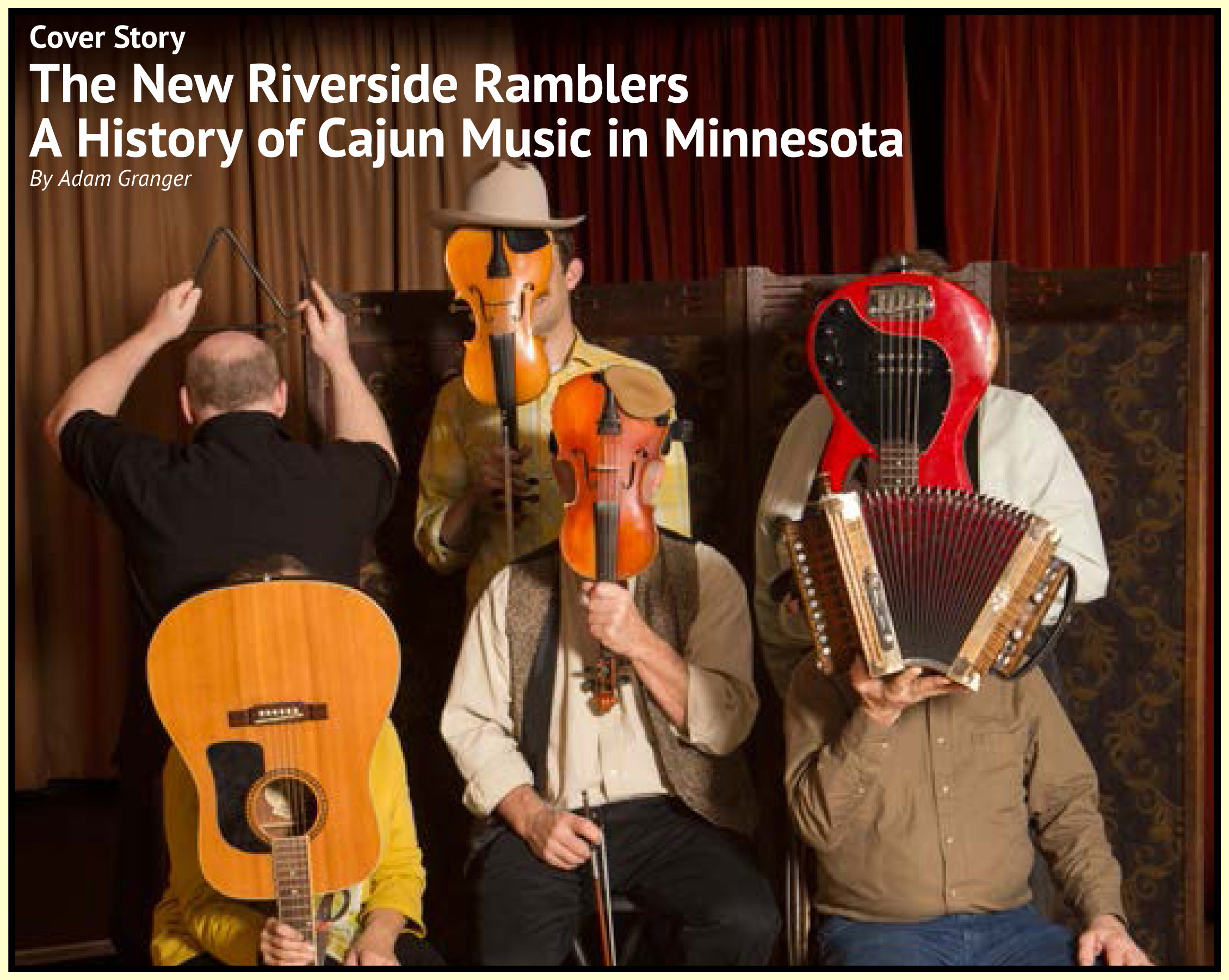 Article on New Riverside Ramblers in the Jan-Feb 2017 Issue of Minnesota Bluegrass Magazine