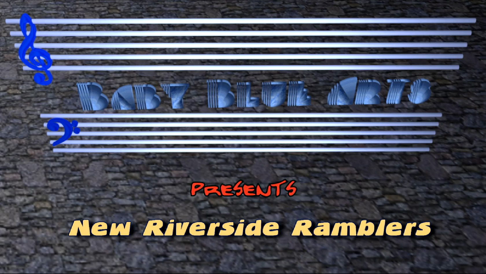 "Link to New Riverside Ramblers' appearance on the ""Baby Blue Arts Presents"" TV Program"