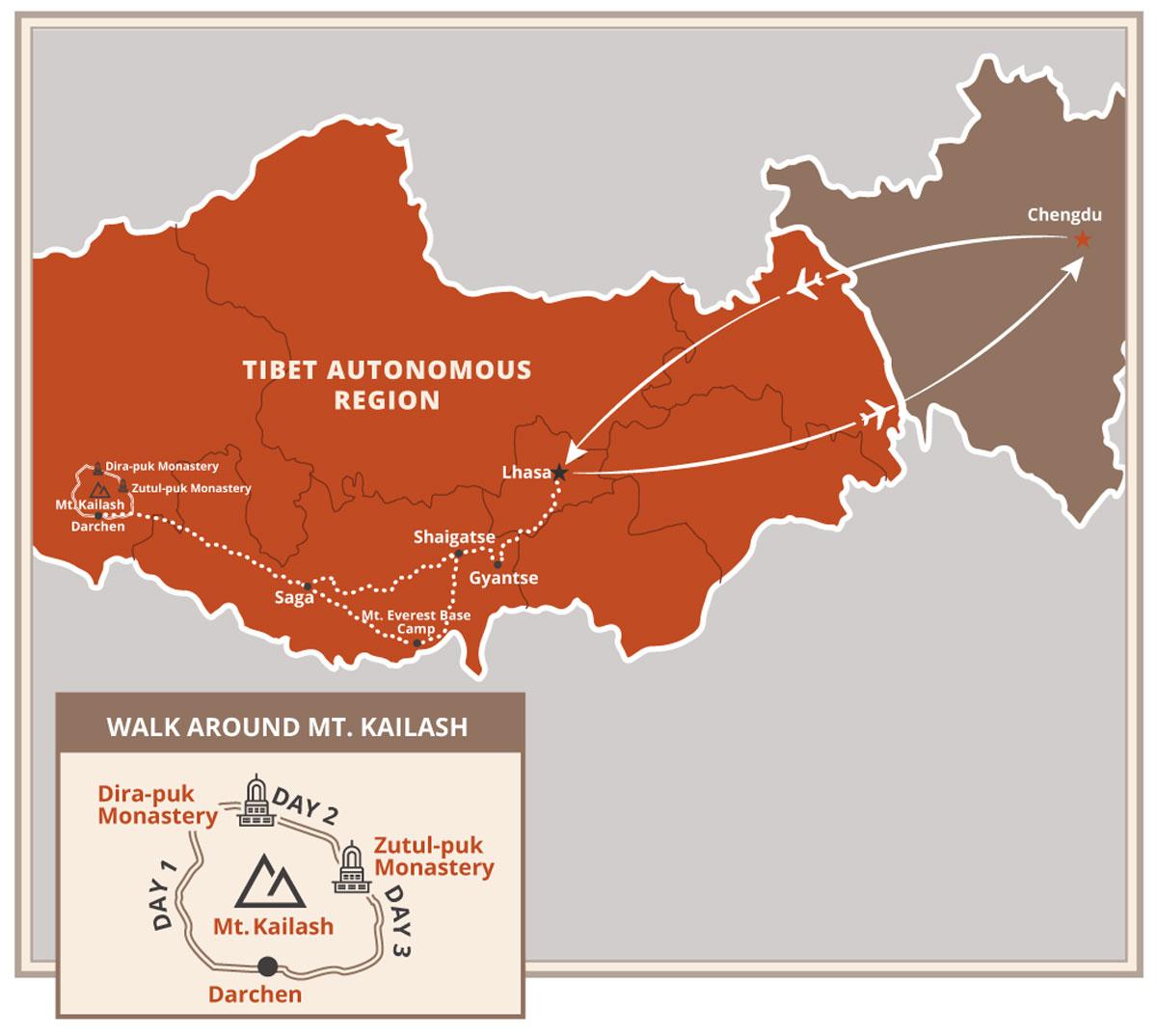 Tibet Map Kailash Lhasa Everest Base Camp.jpg