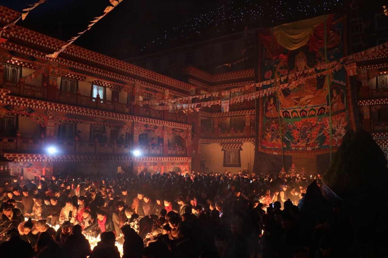 The Butter Lamp Festival in Kangding, Kham.