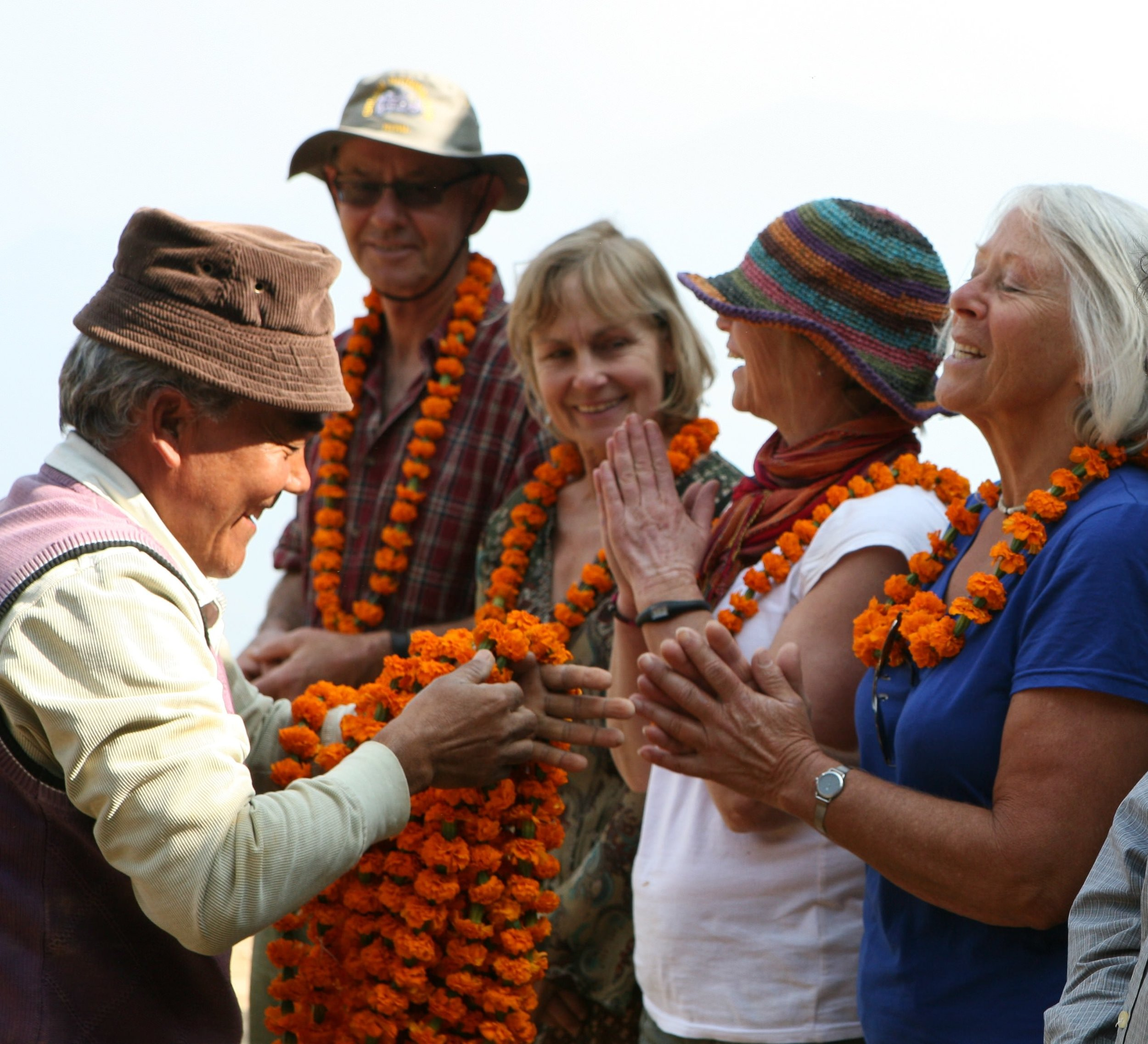 Village leaders thank yoga adventurers for their hard work- can supply high res in a few days.jpg