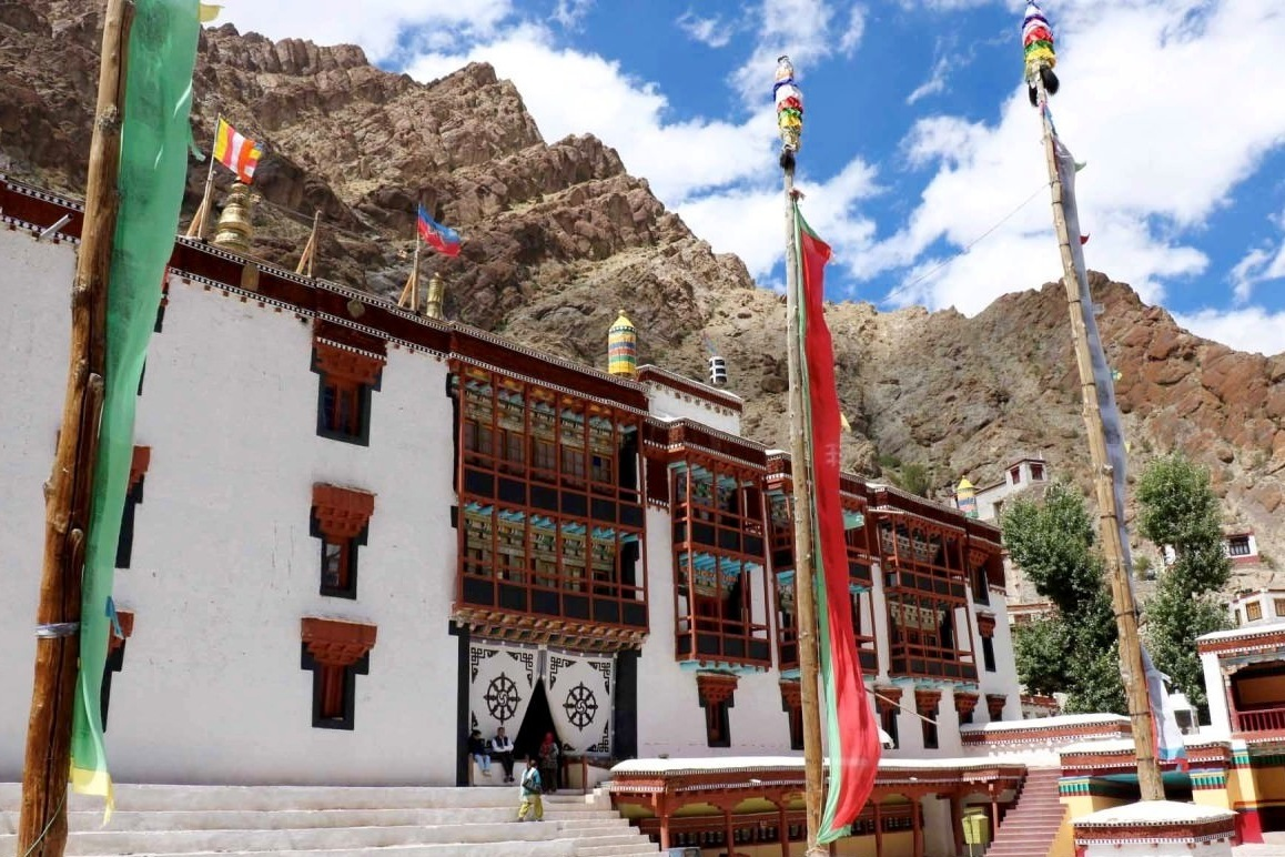 Hemis Gompa - The richest monastery in Ladakh, housing a collection of significant religious and historic relics in its museum.