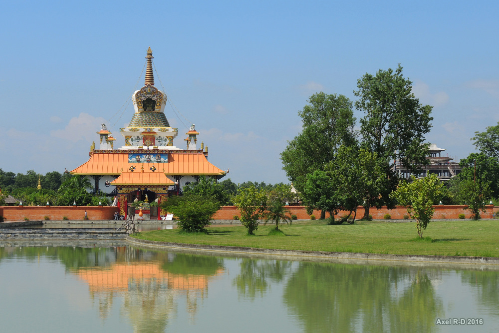 Lumbini.  Photo: Alex Drainville/Flickr