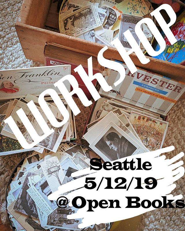 👀👀 Hey Seattle!!! We are in town and ready to erasure with you! We would love to meet you at our workshop @openpoetrybooks this Sunday. Just look at some of the gorgeous materials you get to cut and paste with! 😘 . . #poetry #blackoutpoetry #blackoutpoet #erasurebooks #erasurepoetry #seedoublepress #independentpress #minneapolis #publishing #poet #redacted #foundpoetry #redactedpoetry #liapurpura #maryruefle #lawrencesutin #twincities #madeinmpls #locallymade #minneapolis #poetryfoundation