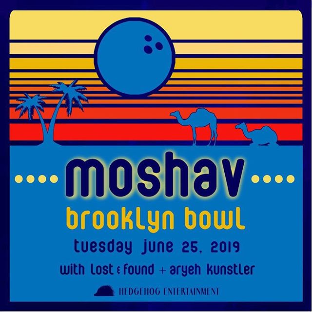 Can't wait for this awesome Moshav concert featuring special guests Lost & Found + Aryeh Kunstler! . . . . . #moshavband #moshav #livemusic #bowl #bkbowl #brooklyn #jewishmusic #entertainment #concert #show #oud #trance #vibe #days #lost #time #bazouki