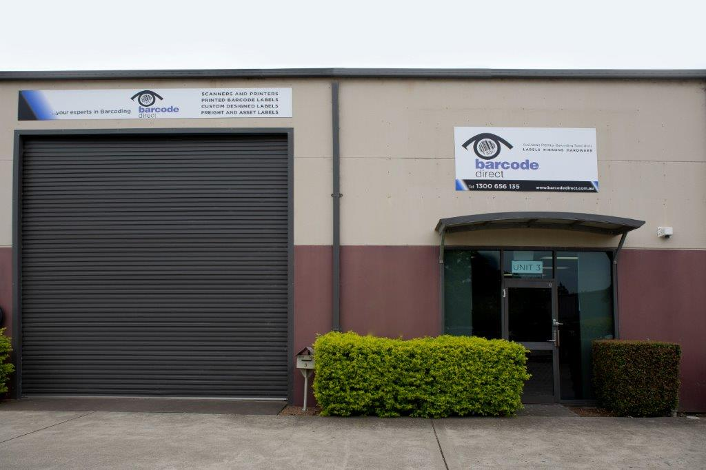 Barcode Direct's office and warehouse at Rutherford is the hub for speedy deliveries and great support.