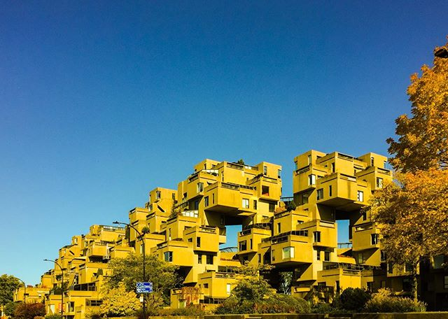 Habitat 67, Moshe Safdie's first project.