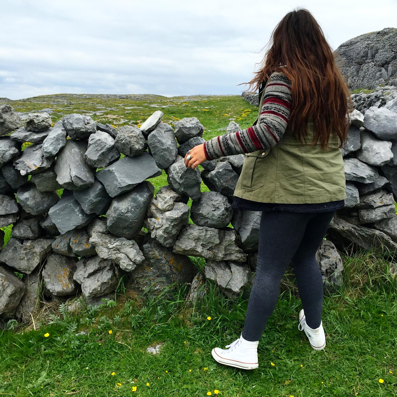 Stone walls of Ireland