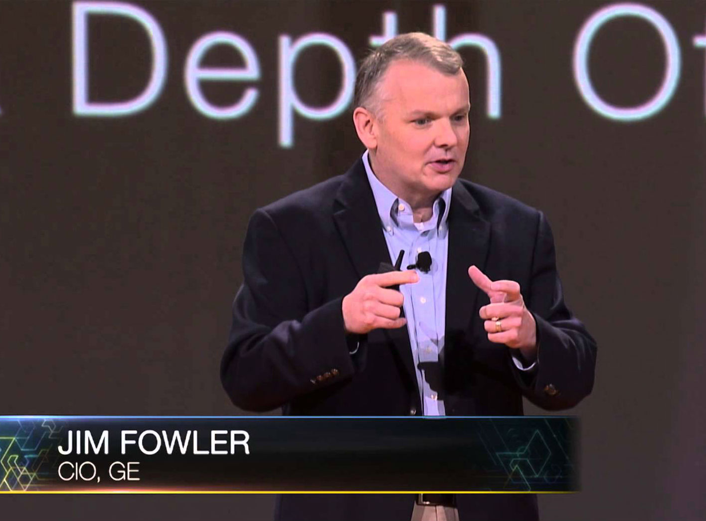 Jim Fowler, CIO of General Electric