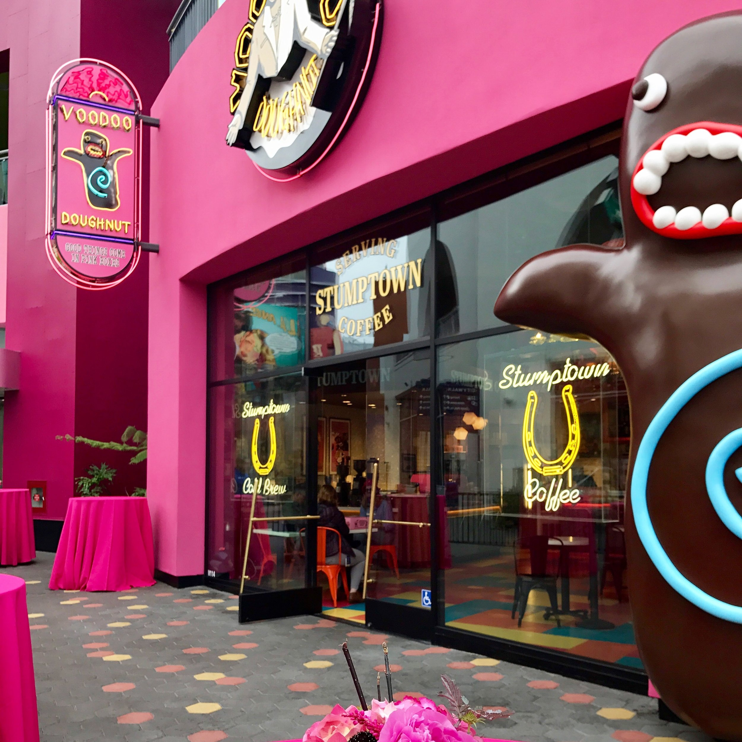 NBCUNIVERSAL | Voodoo Doughnuts Press Event | 06.1.17 Universal City Walk, Hollywood