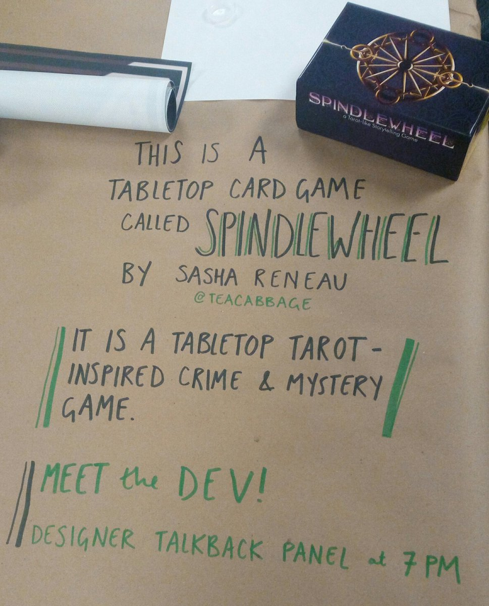 Games at Play - Thank you to University of Irvine for featuring Spindlewheel: Detective in the arcade! Read some of the stories told here.