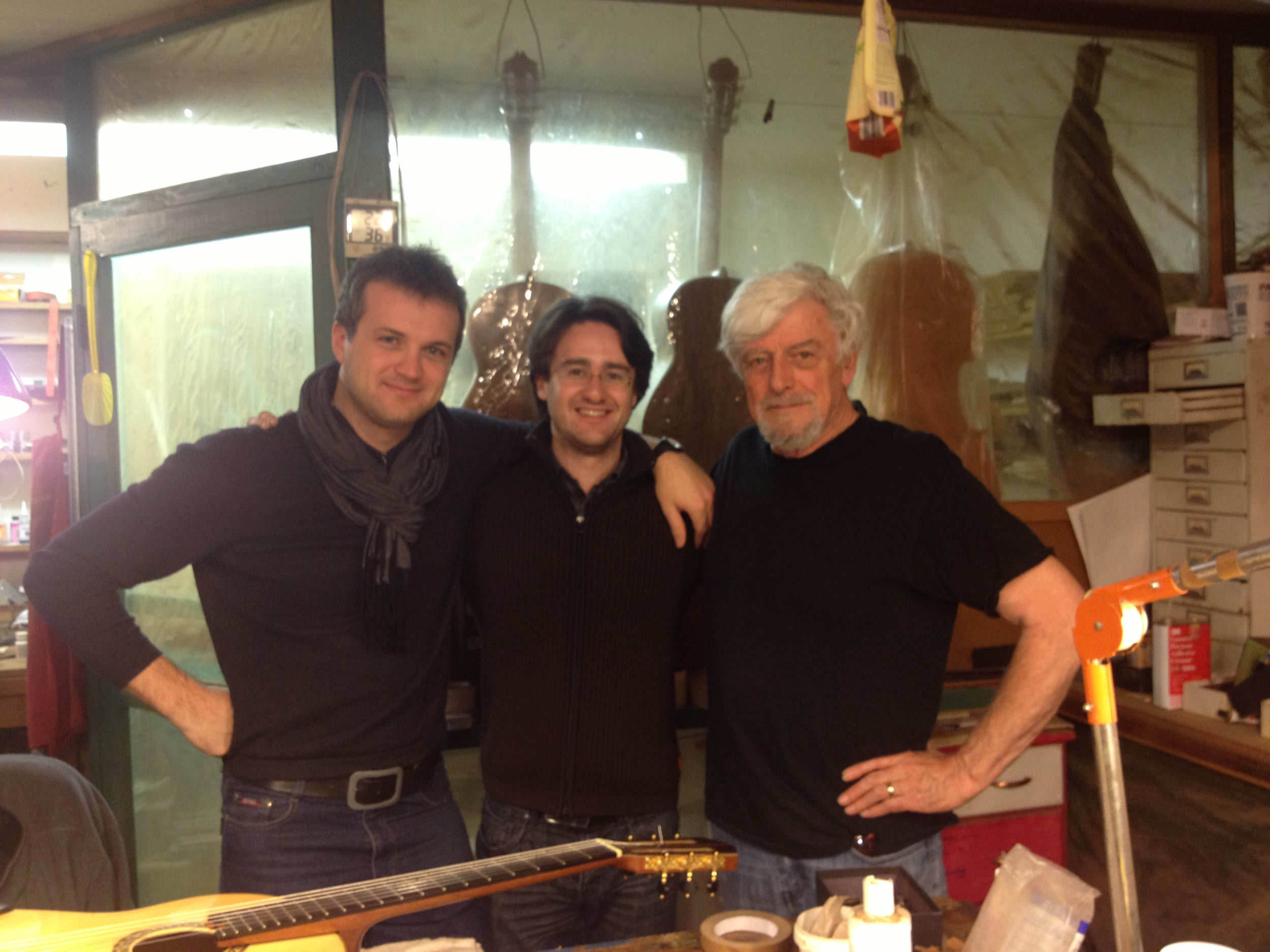 With Vladimir Gorbach and Gil Carnal