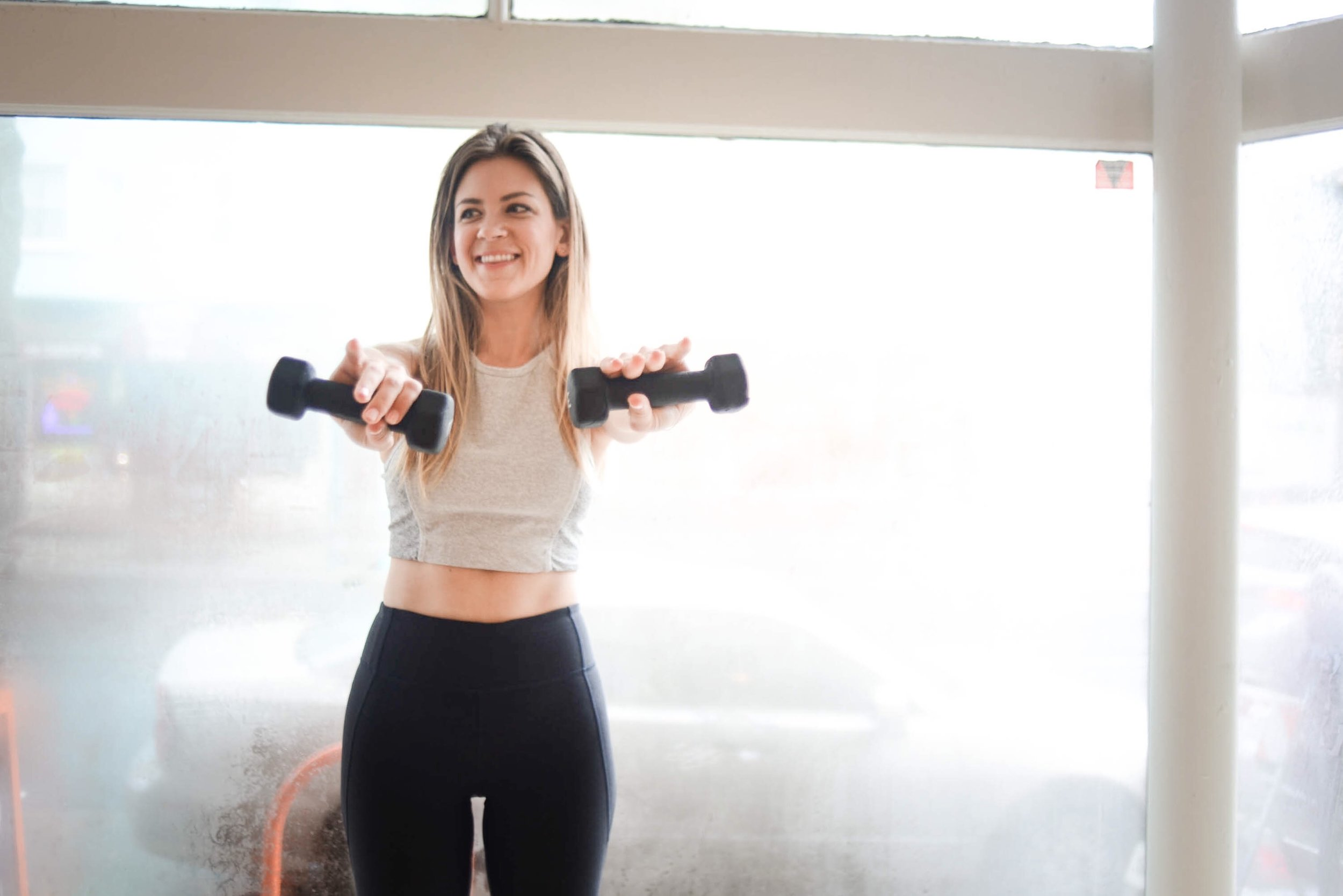 This photoshoot took place at my favorite Pilates studio in SF,  Core 40  .  Leggings  in Charcoal. Same top, similar colors   here  and   here  .
