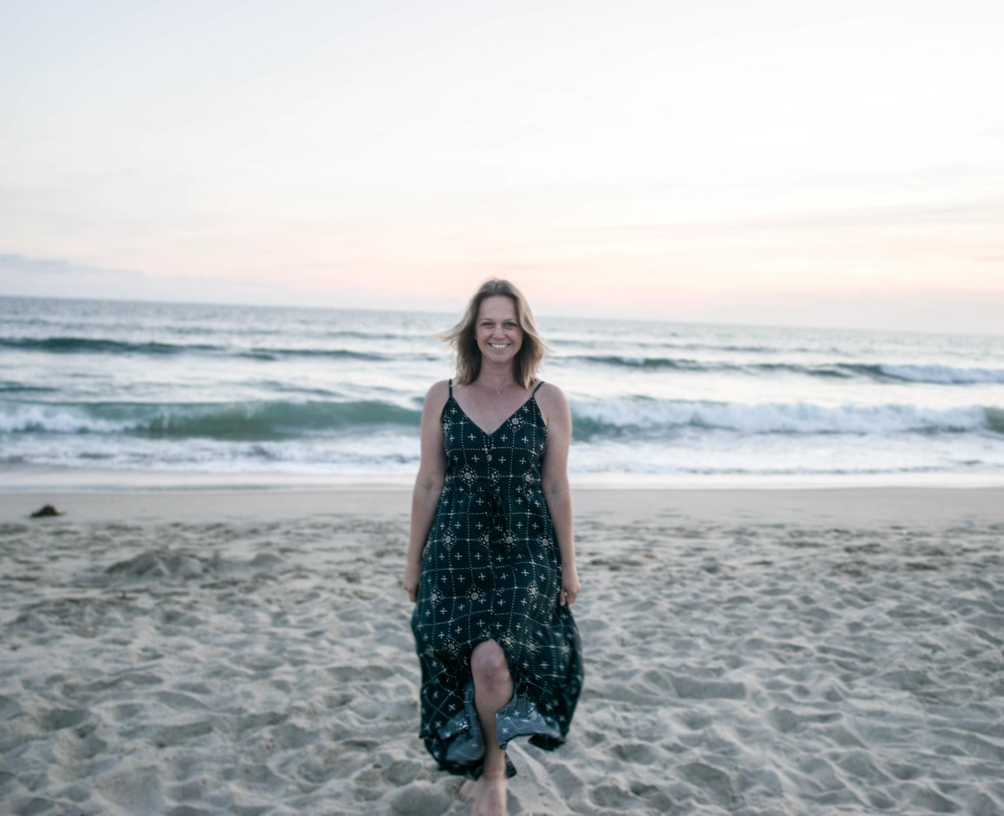Jill in her element on Venice beach!