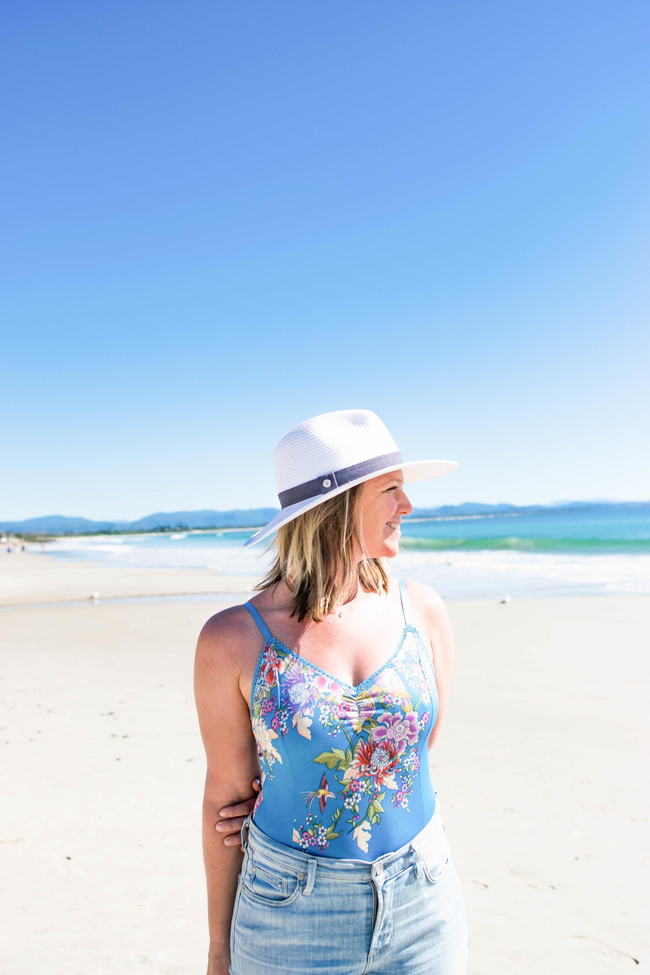 Jill in Byron Bay, Australia
