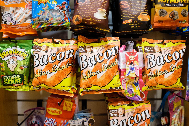 bacon cotton candy