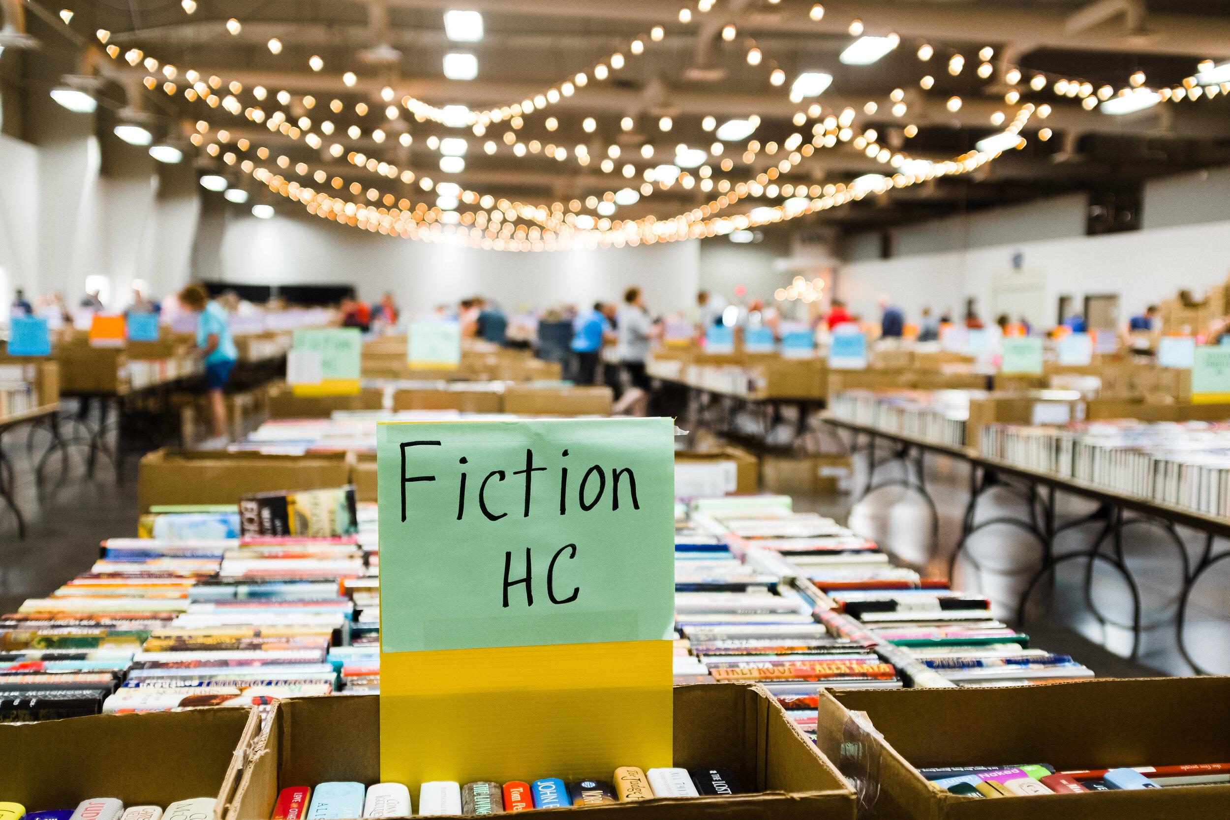 Lincoln City Libraries annual book sale.