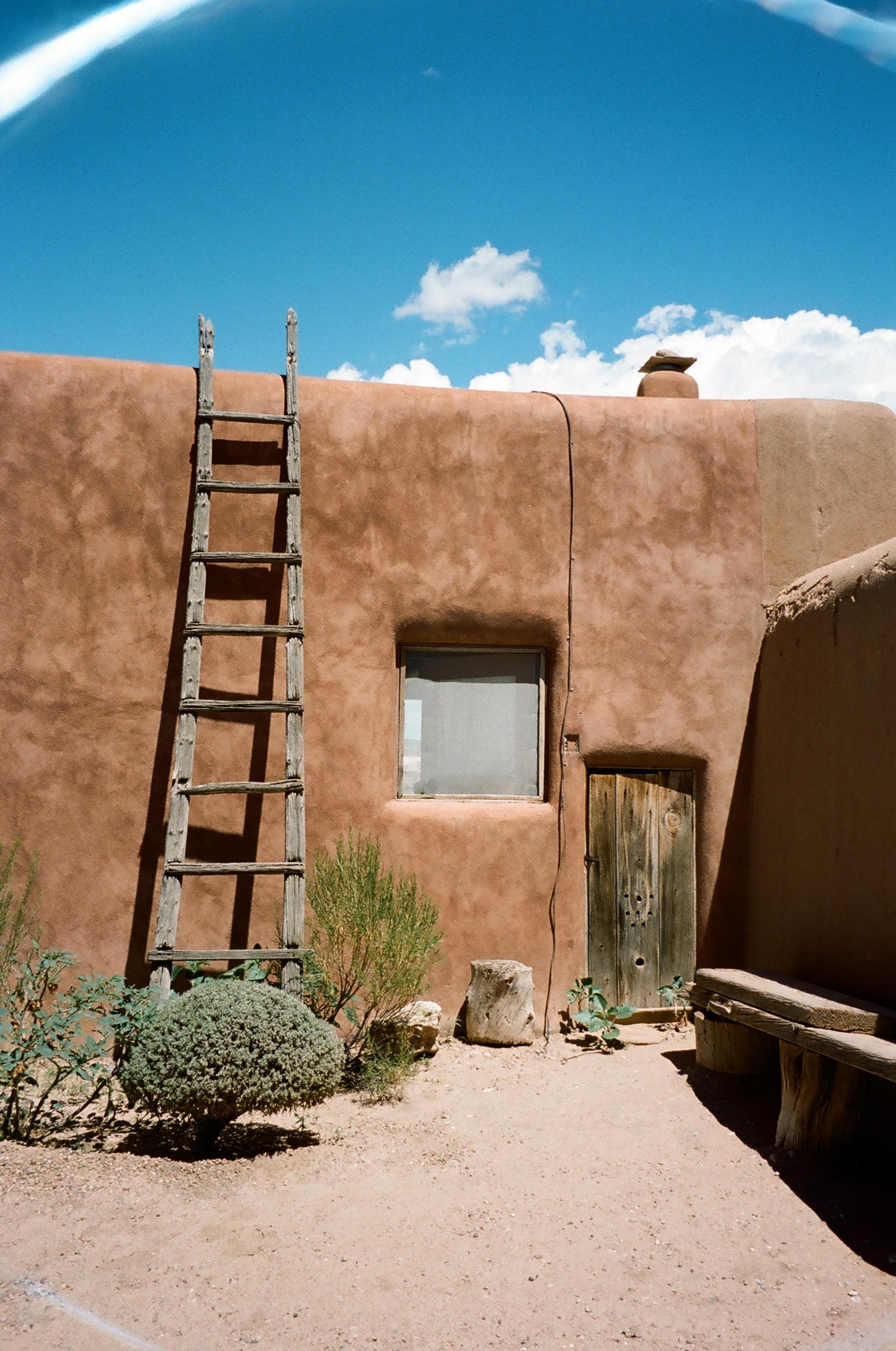 Georgia O'Keefe's home / New Mexico.