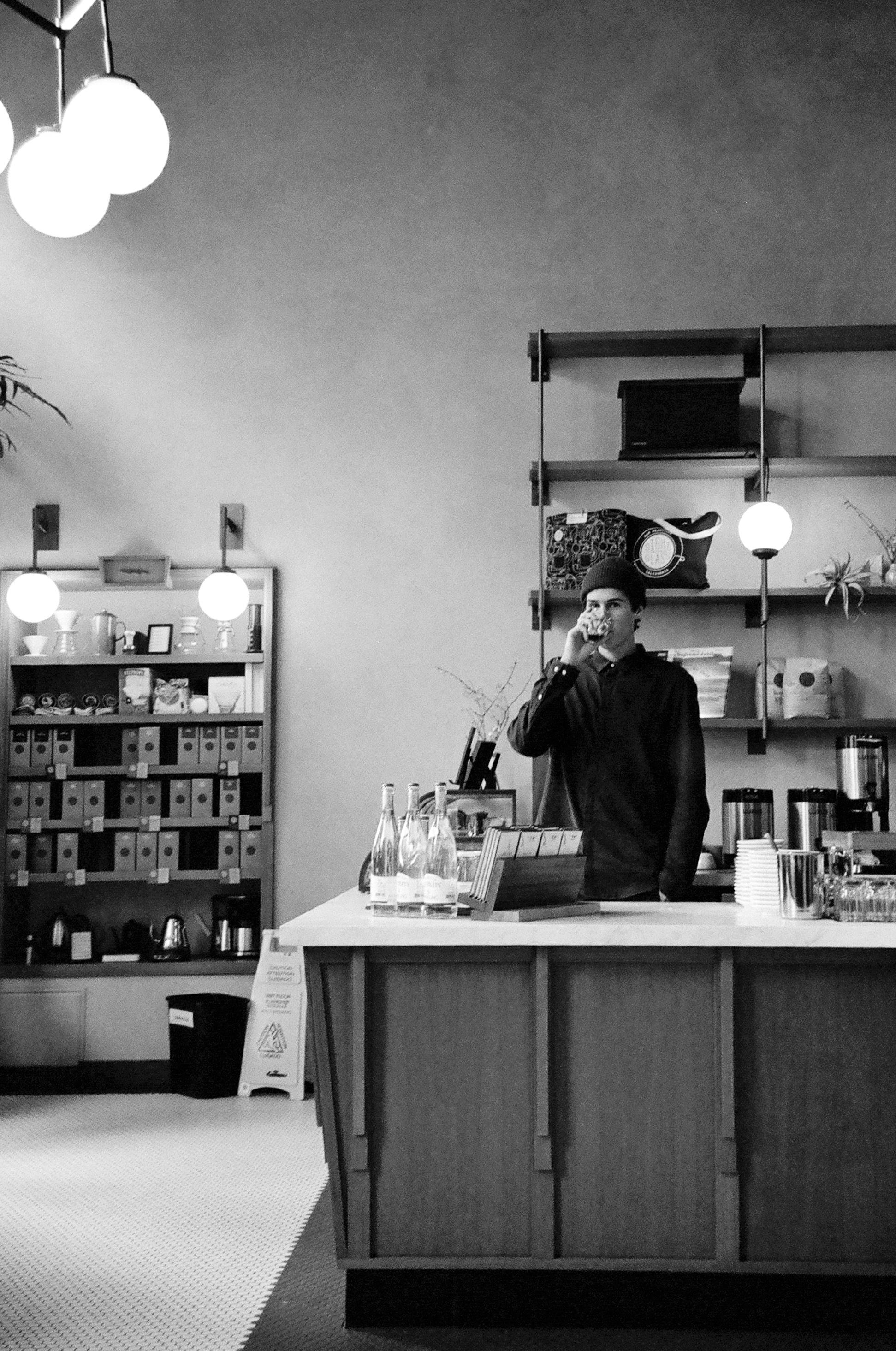 aaron / sightglass coffee, san francisco