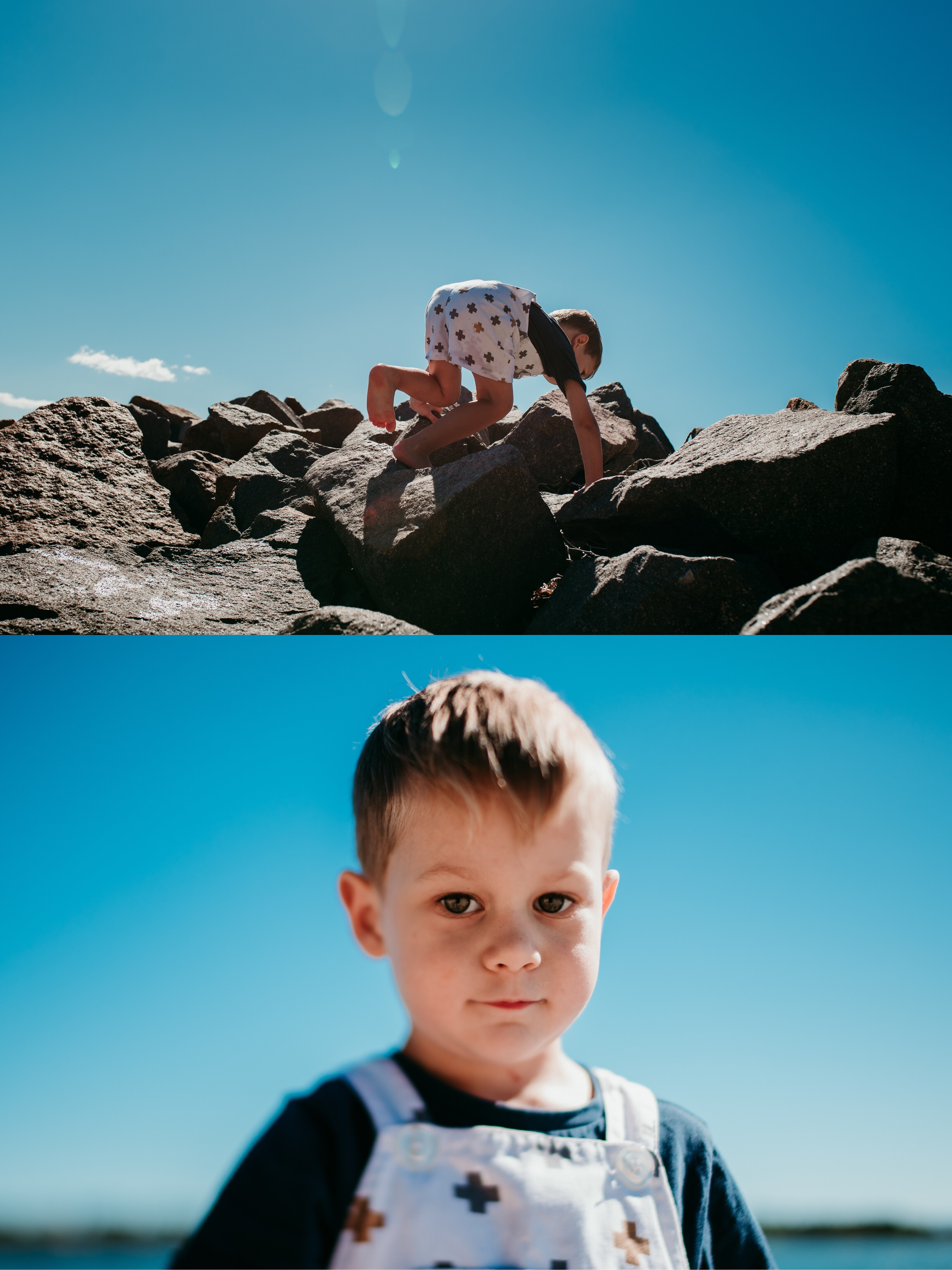 First time creating a diptych to showcase two perspectives of the same moment